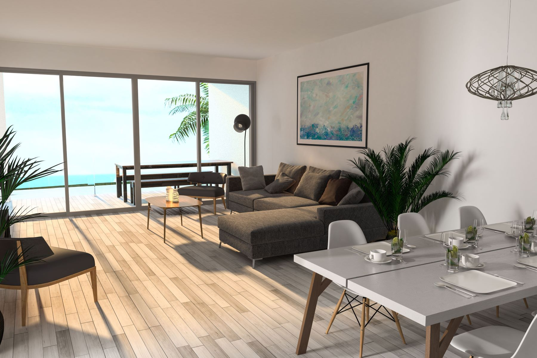 Additional photo for property listing at Luxury One Bedroom Condo at H20 Long Bay B103 Long Bay, Провиденсьялес Теркс И Кайкос