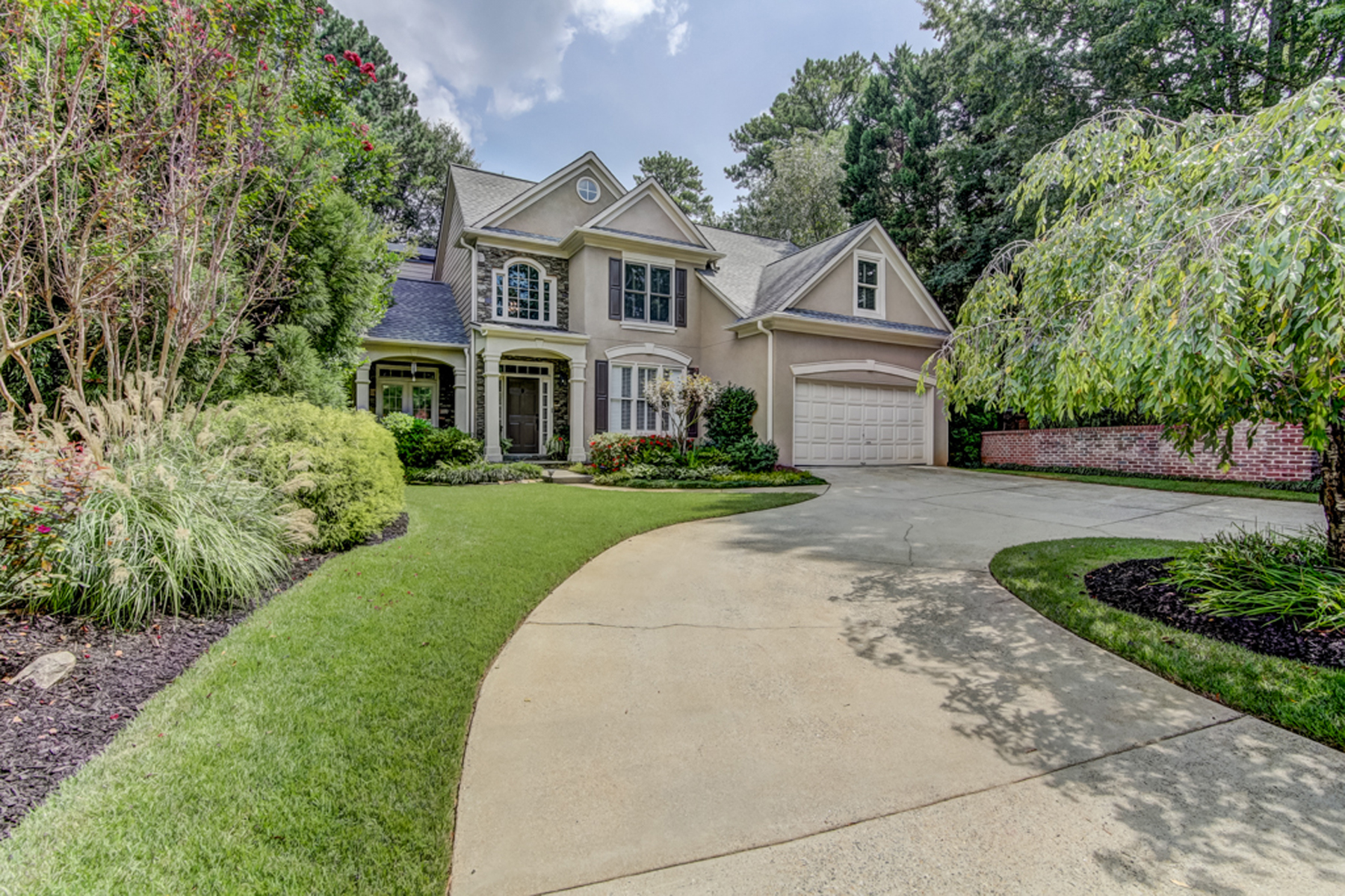 Single Family Home for Sale at Beautifully Situated On Stunning Private Corner Lot 4521 Weldon Drive SE Smyrna, Georgia 30080 United States