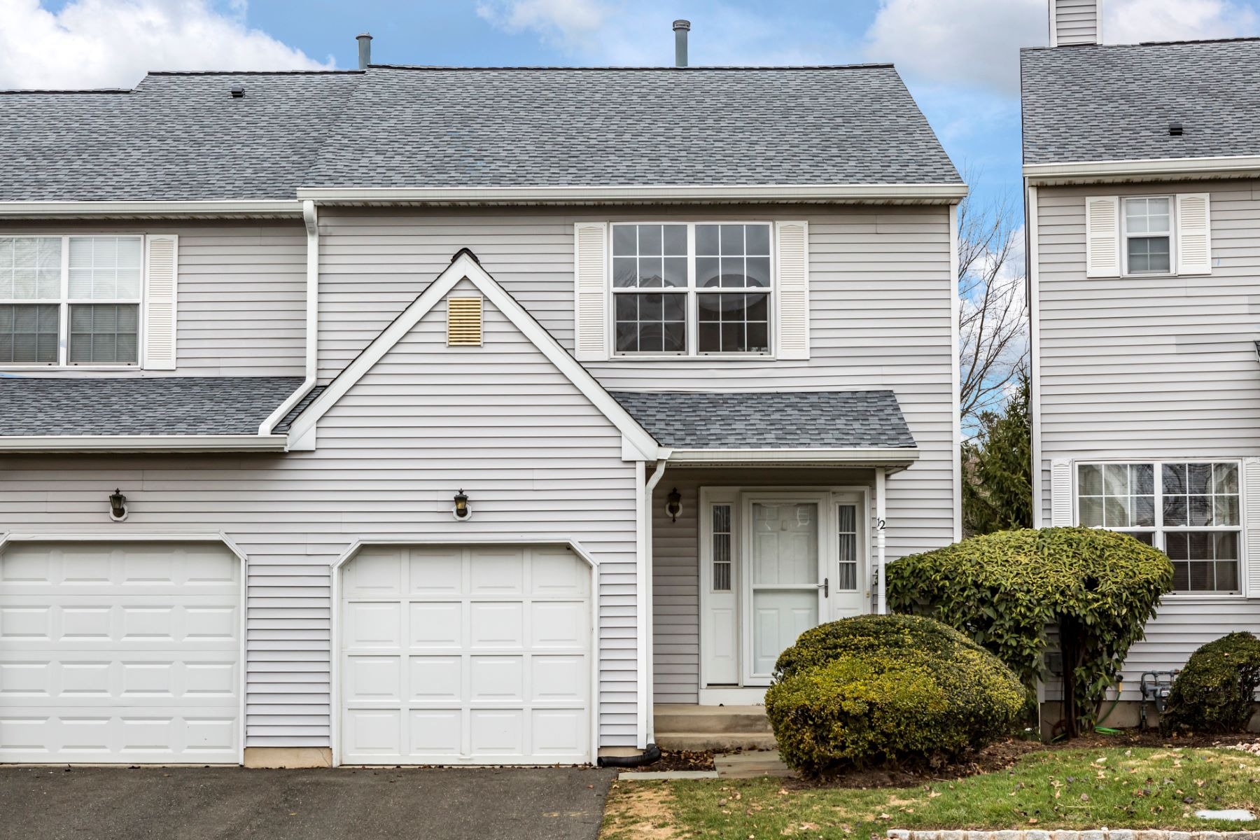Townhouse for Sale at Comfortable, Informal Townhome Living 12 Crockett Lane, Ewing, New Jersey 08628 United States
