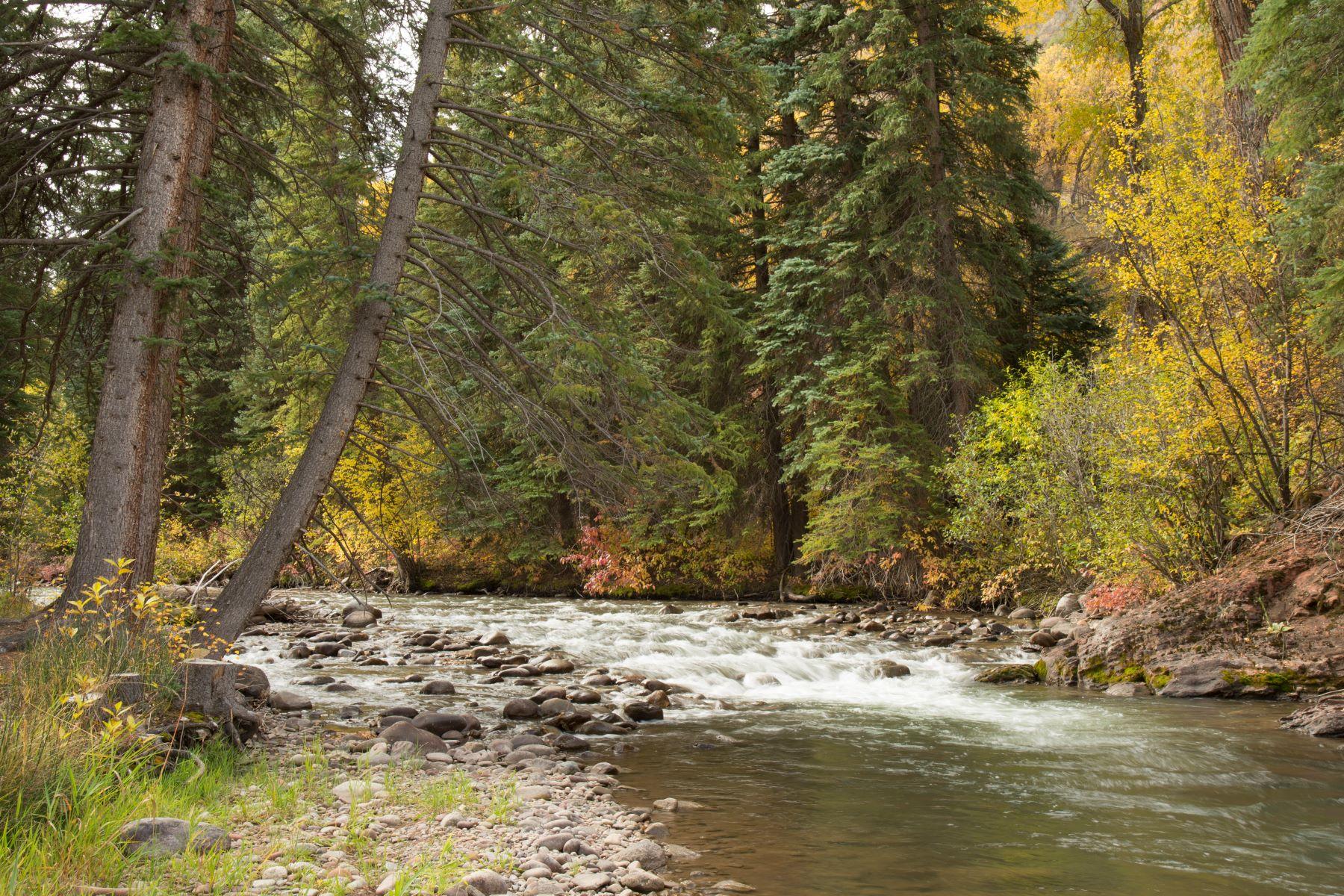 土地 のために 売買 アット Idyllic Creek-front Acreage TBD Snowmass Creek Road Snowmass, コロラド 81654 アメリカ