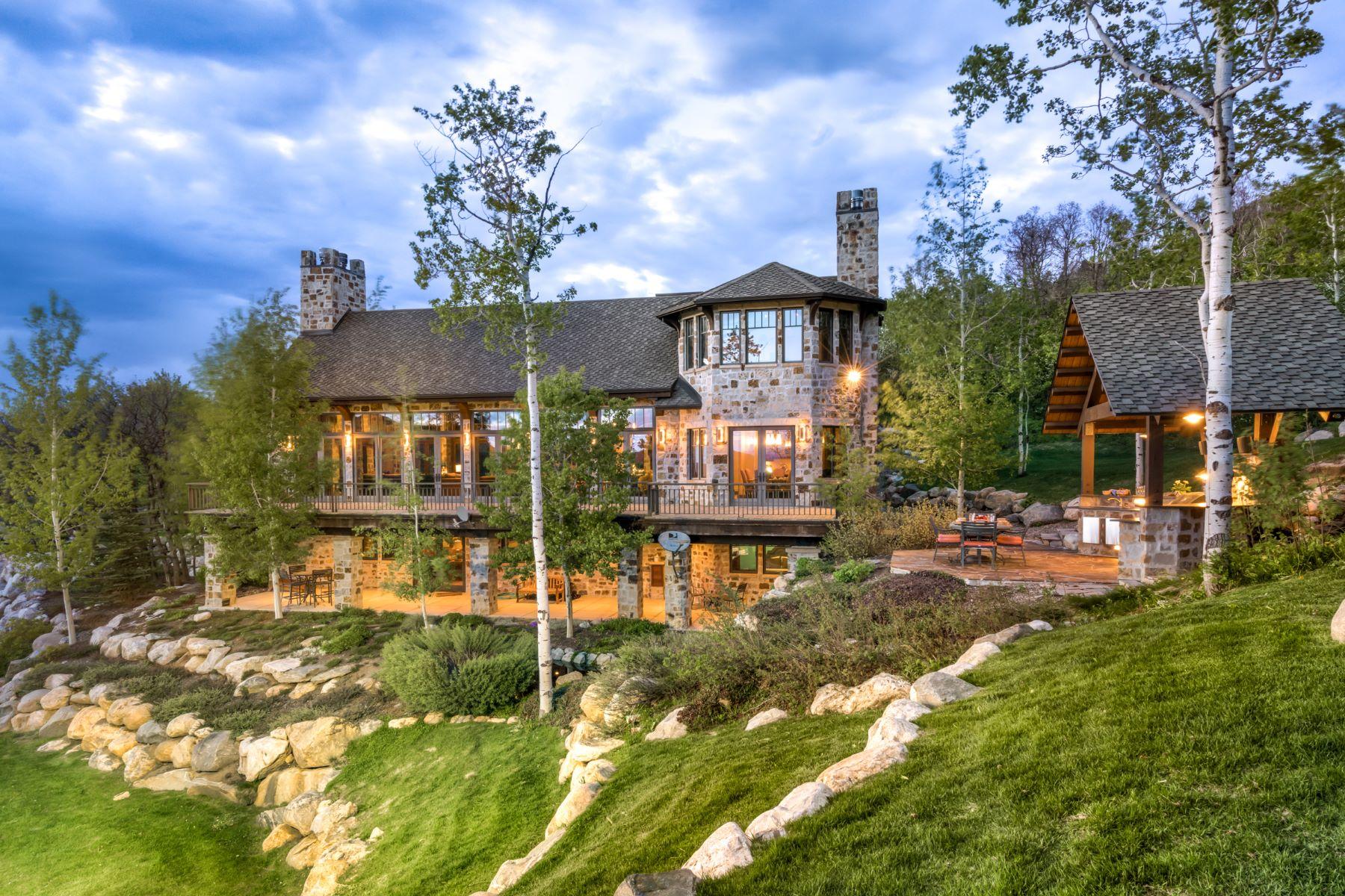 Maison unifamiliale pour l Vente à Modern Mountain Luxury 120 Deer Clover Lane Steamboat Springs, Colorado, 80487 États-Unis