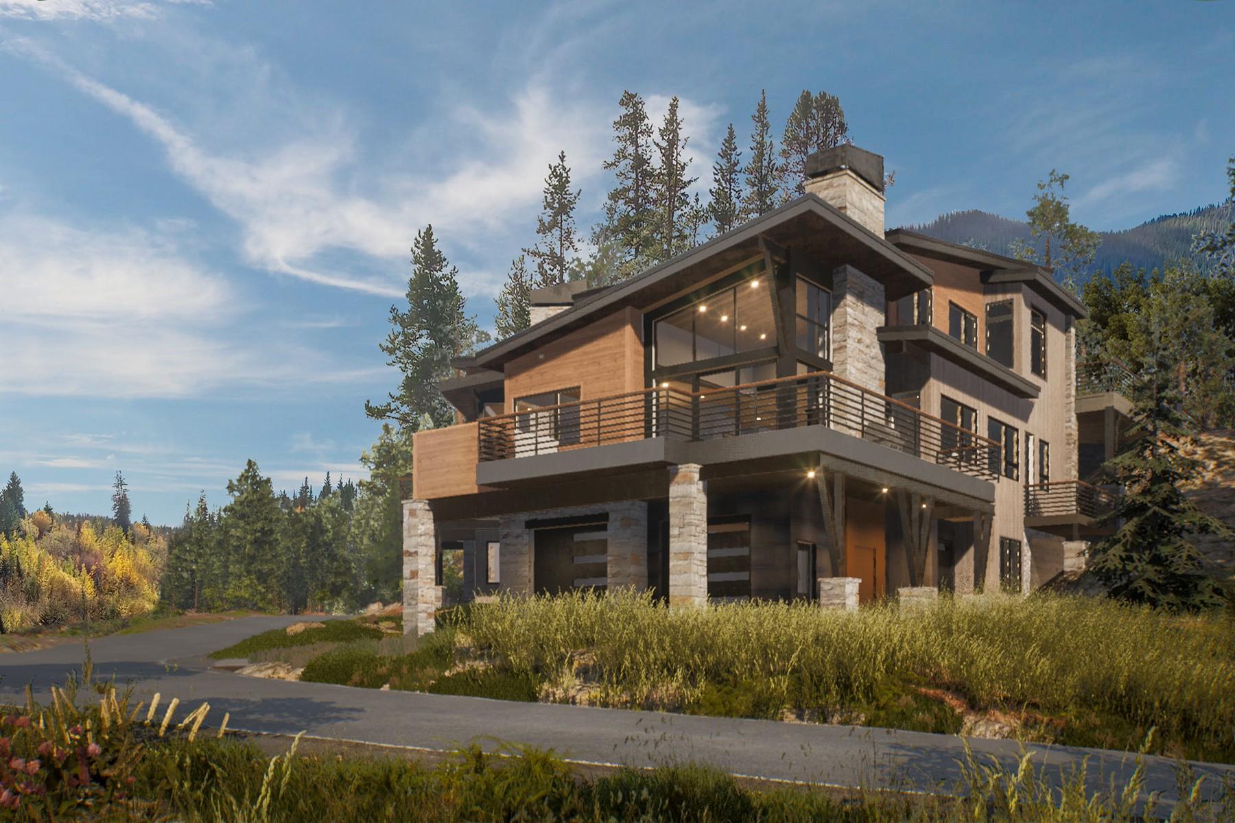 Duplex Homes por un Venta en Creekside new construction in East Vail! 5178 Black Gore Drive Vail, Colorado 81657 Estados Unidos