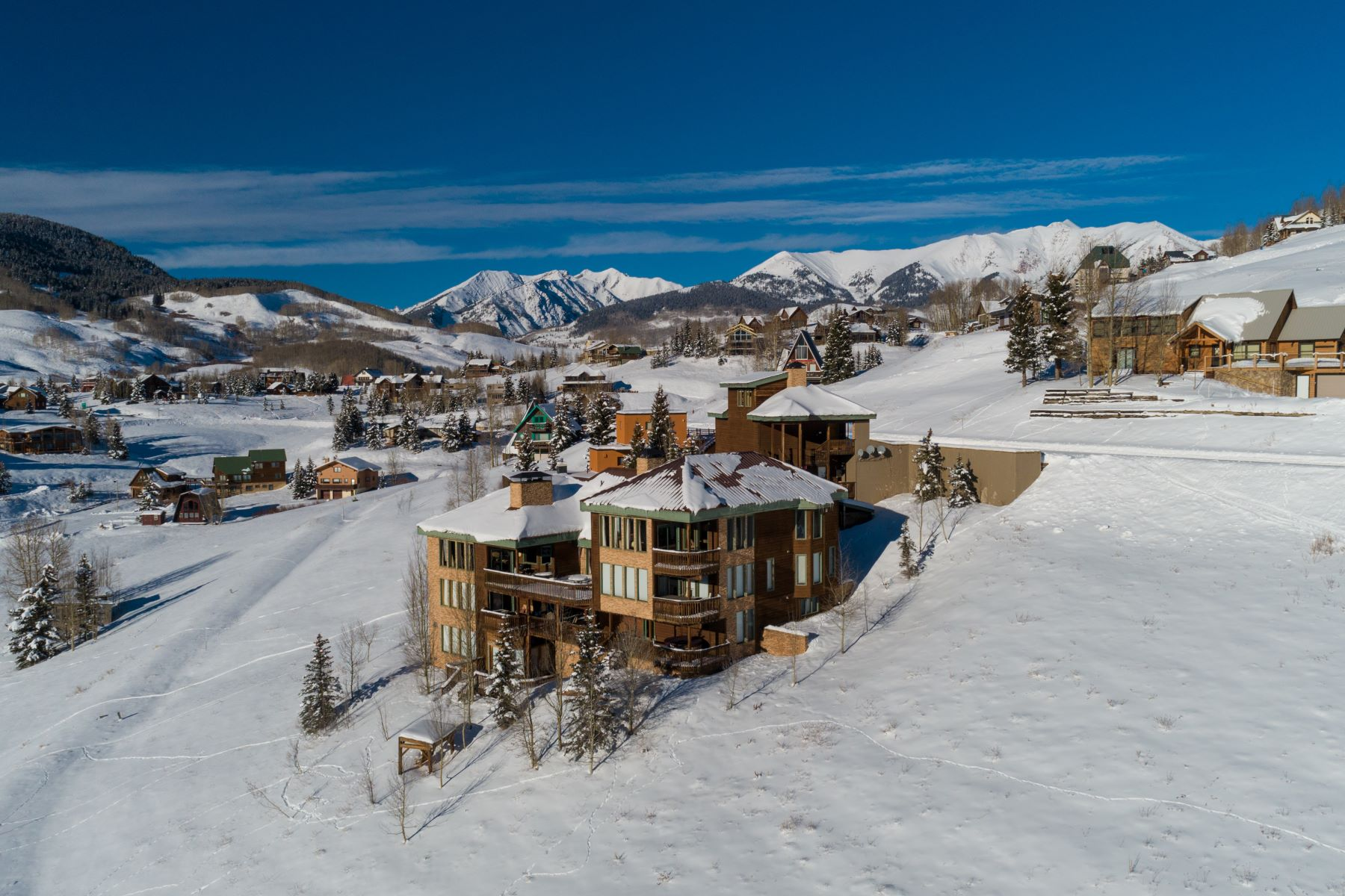 Single Family Homes for Sale at The Crested Butte Retreat 39 Whetstone Road Mount Crested Butte, Colorado 81225 United States