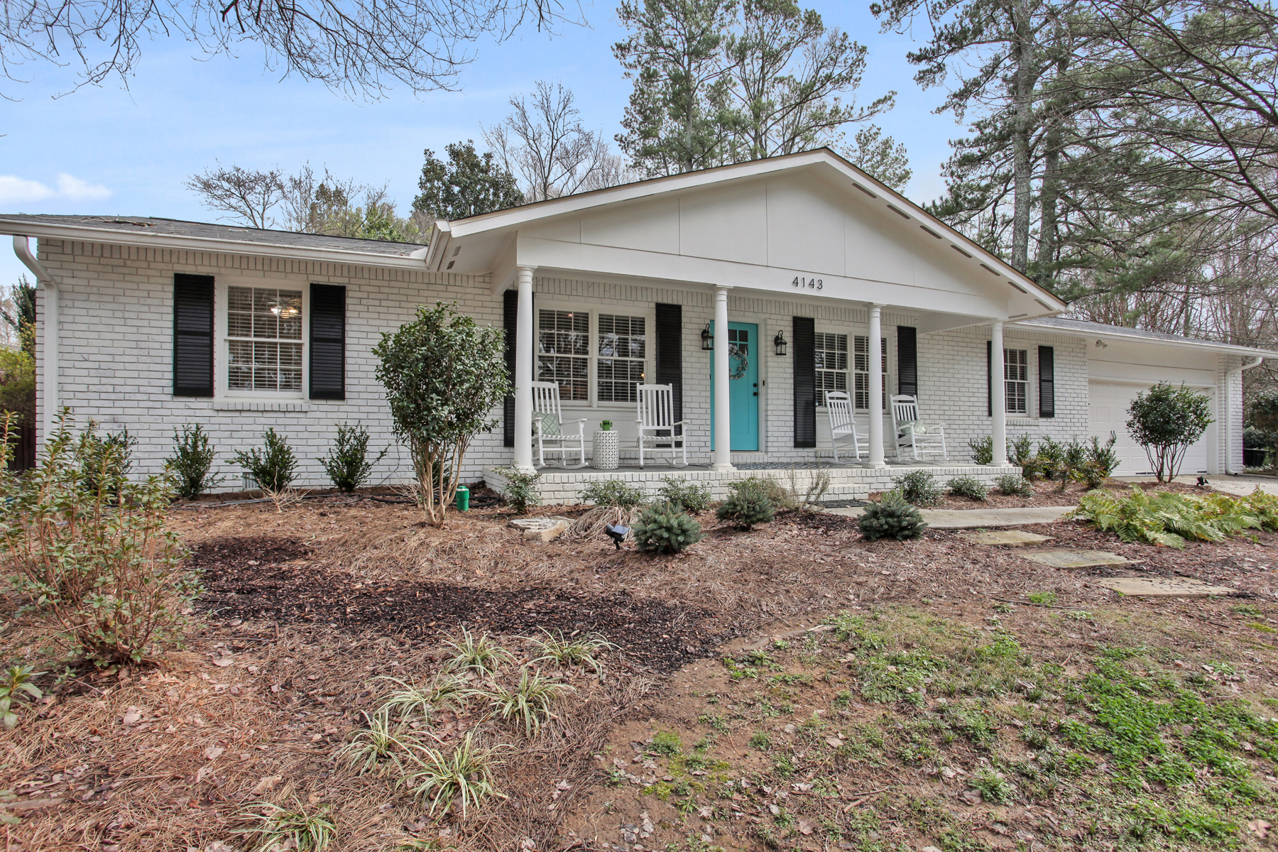 Single Family Homes for Active at Renovated Huntley Hills Bungalow 4143 Commodore Drive Chamblee, Georgia 30341 United States