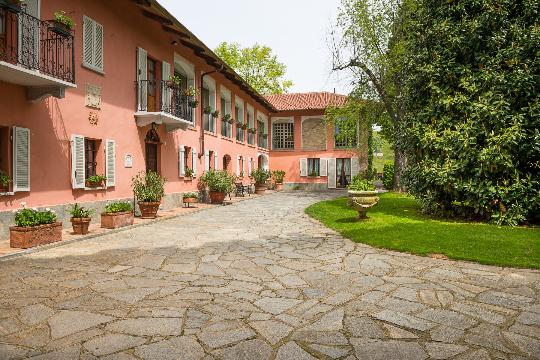 Single Family Home for Sale at Elegant farmhouse on the hills of Piedmont Frazione Nevissano Other Asti, Asti 14022 Italy