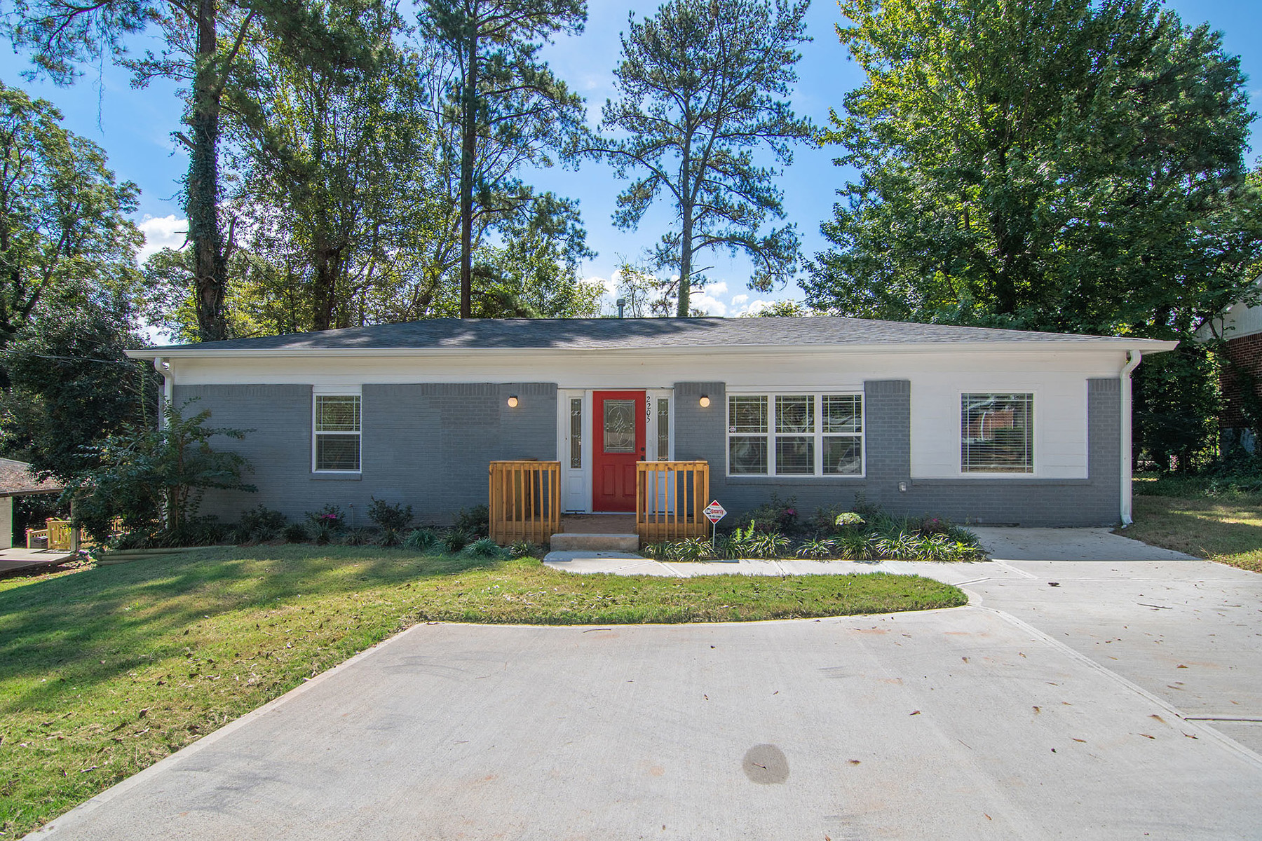 Single Family Home for Sale at Fully Renovated East Atlanta Ranch with Fenced Back Yard 2205 Brannen Road SE Atlanta, Georgia 30316 United States