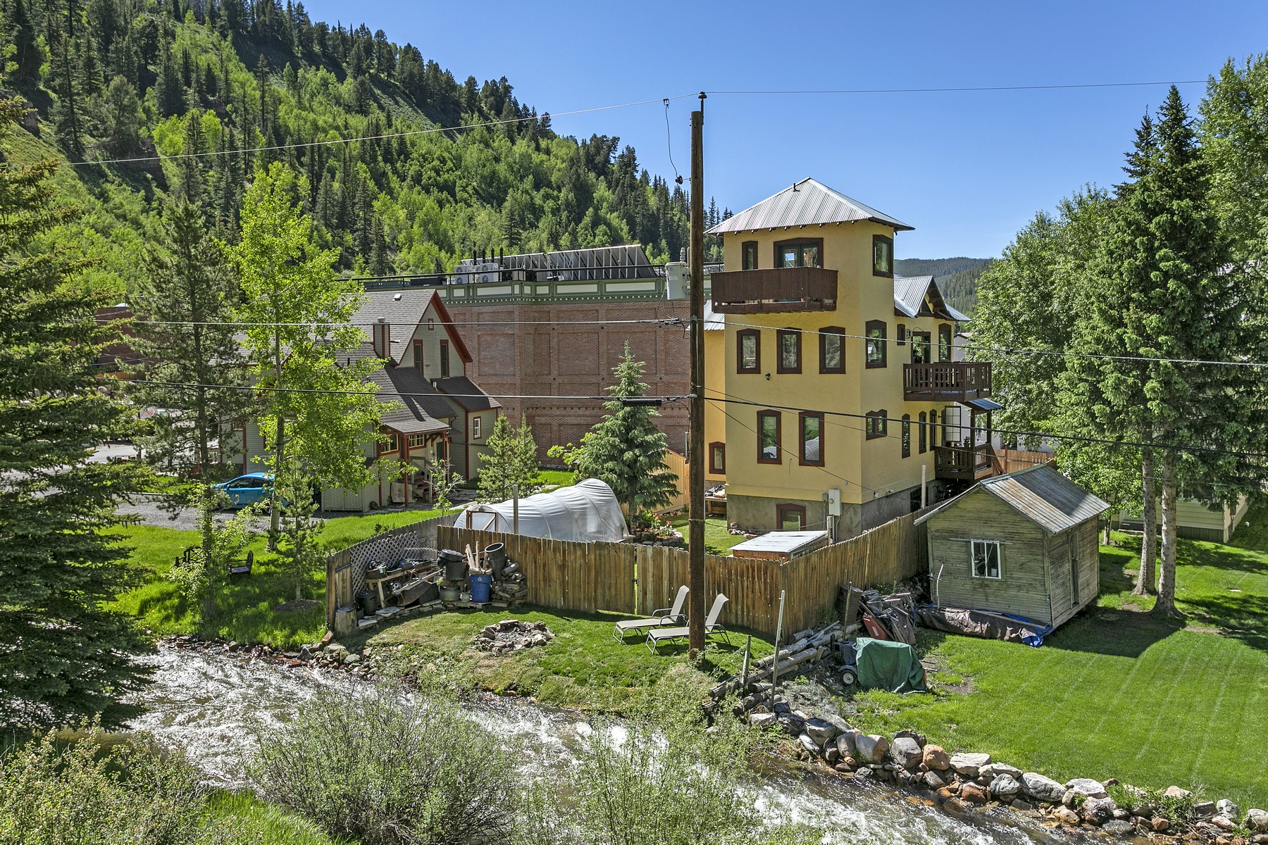 Single Family Homes for Sale at Views in All Directions 146 Water Street Red Cliff, Colorado 81649 United States