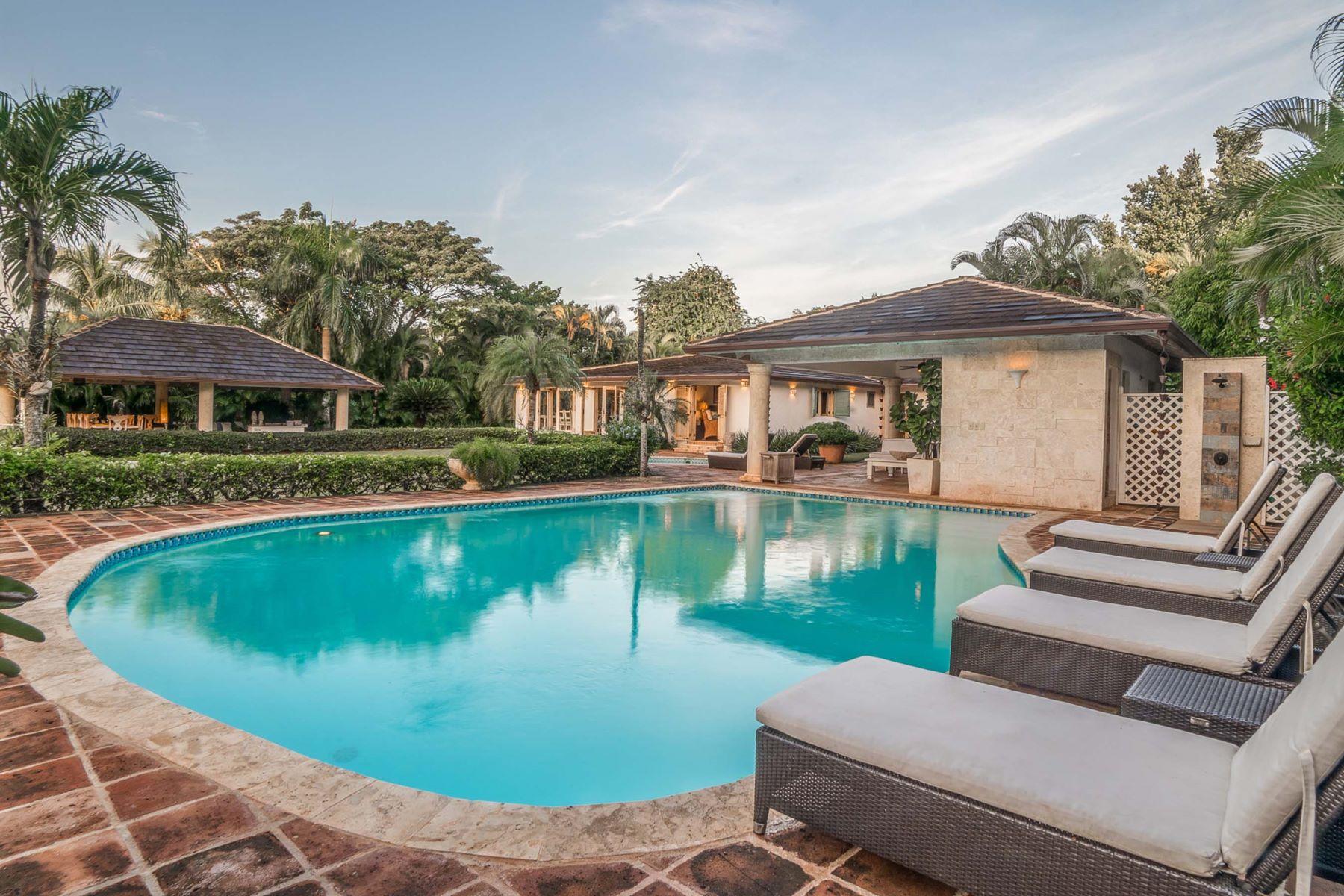 Single Family Home for Sale at Colonial One-level villa walking distance to the Beach Casa De Campo, La Romana, Dominican Republic