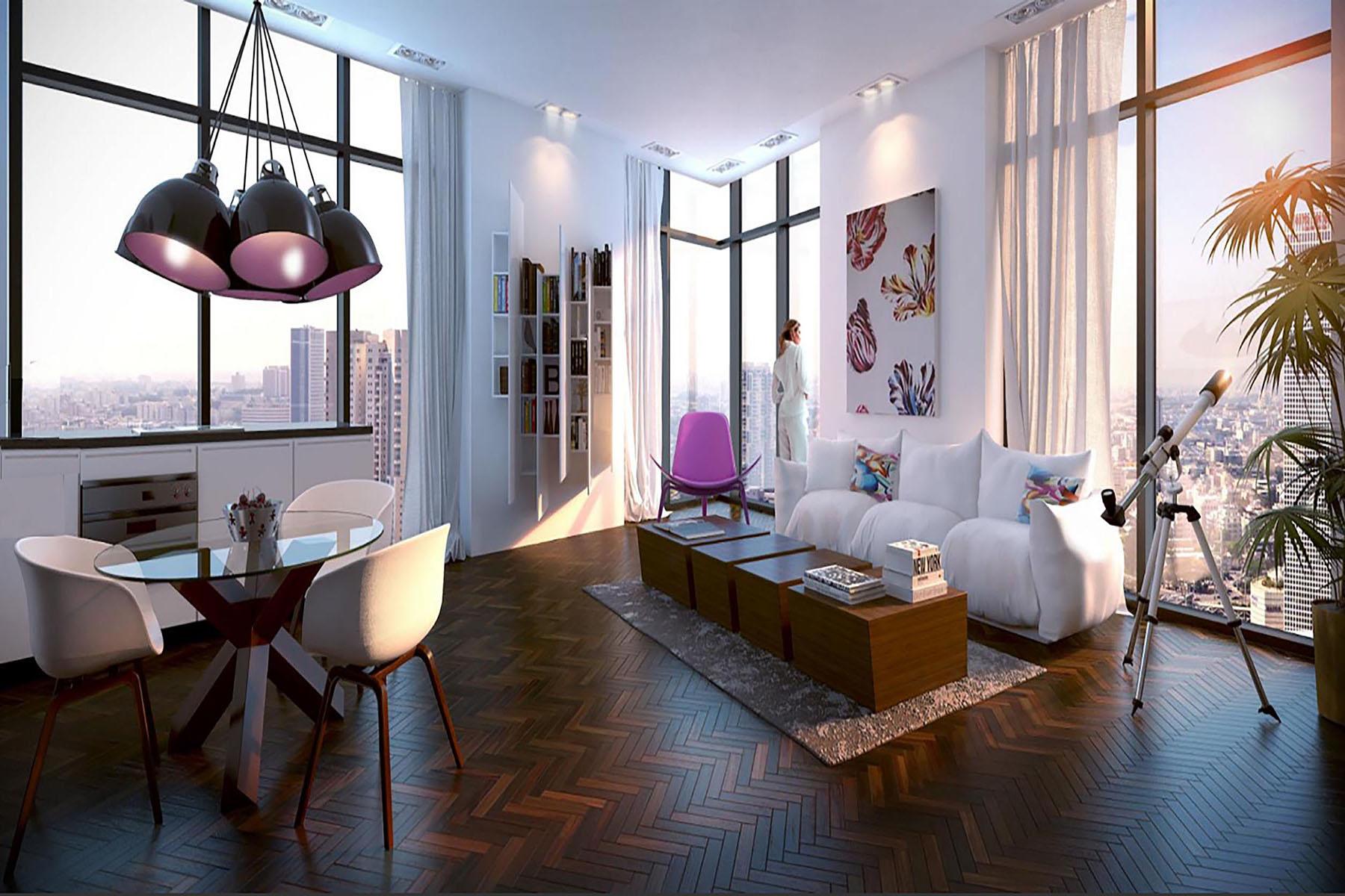 公寓 为 销售 在 WE TLV Apartment with Breathtaking Views 特拉维夫, 以色列 以色列