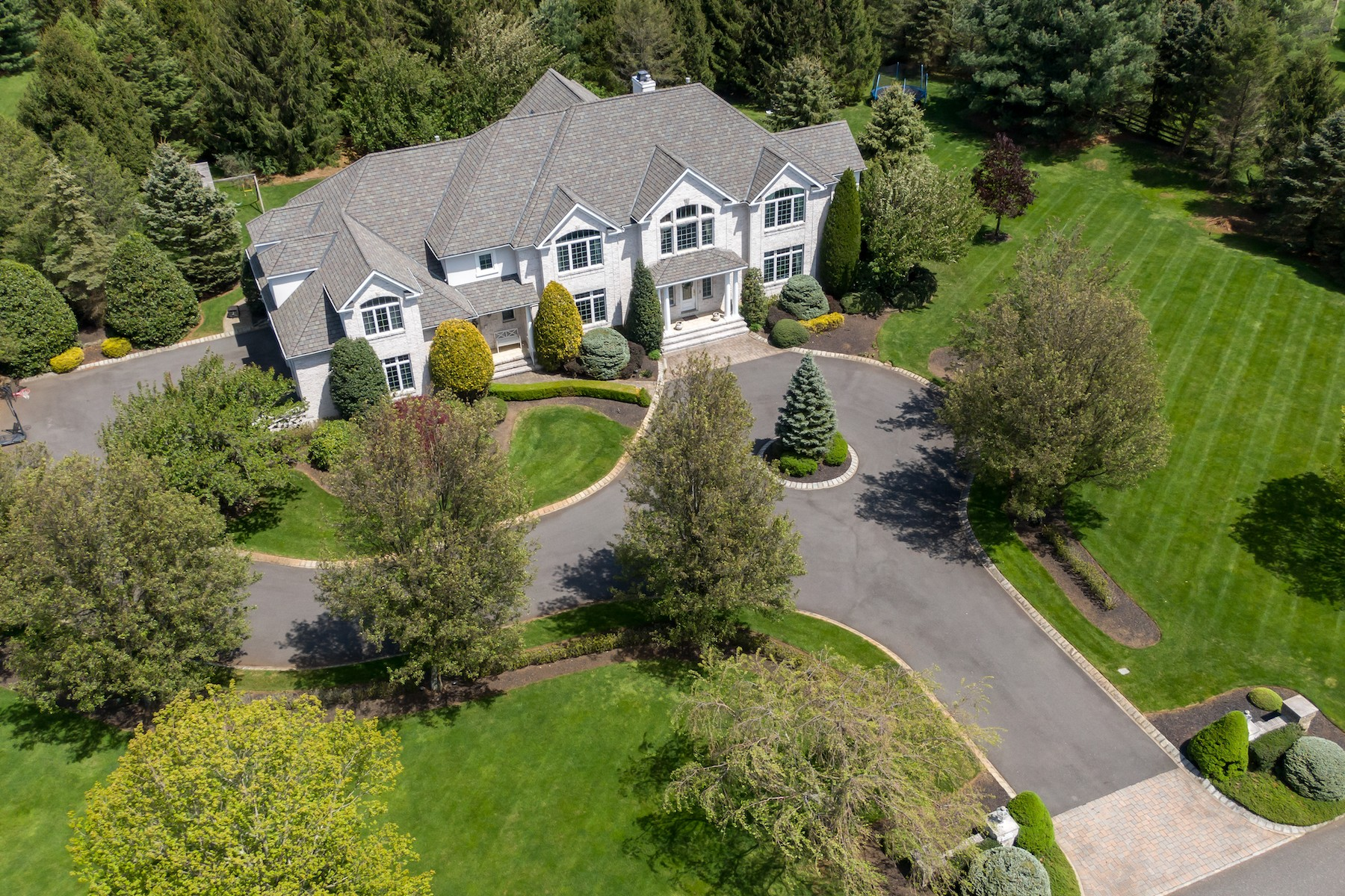 Single Family Homes للـ Sale في Green Hill Estate 10 Country Club Lane, Colts Neck, New Jersey 07722 United States
