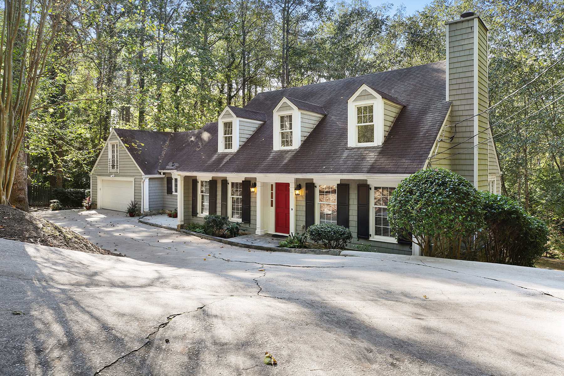 Single Family Home for Sale at Cape Cod Living In The Heart Of Buckhead 1183 Dawn View Lane Atlanta, Georgia 30327 United States