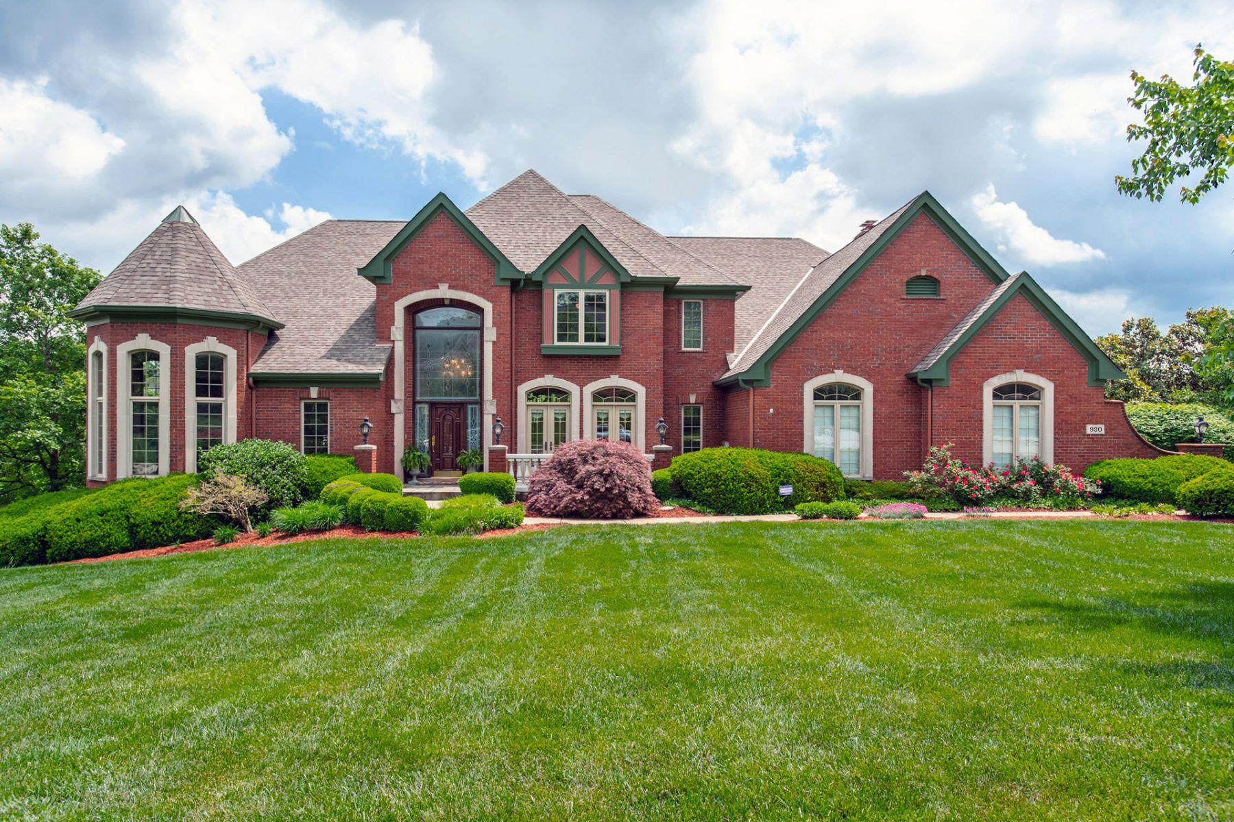 Single Family Homes por un Venta en 920 Squire Oaks Drive Villa Hills, Kentucky 41017 Estados Unidos