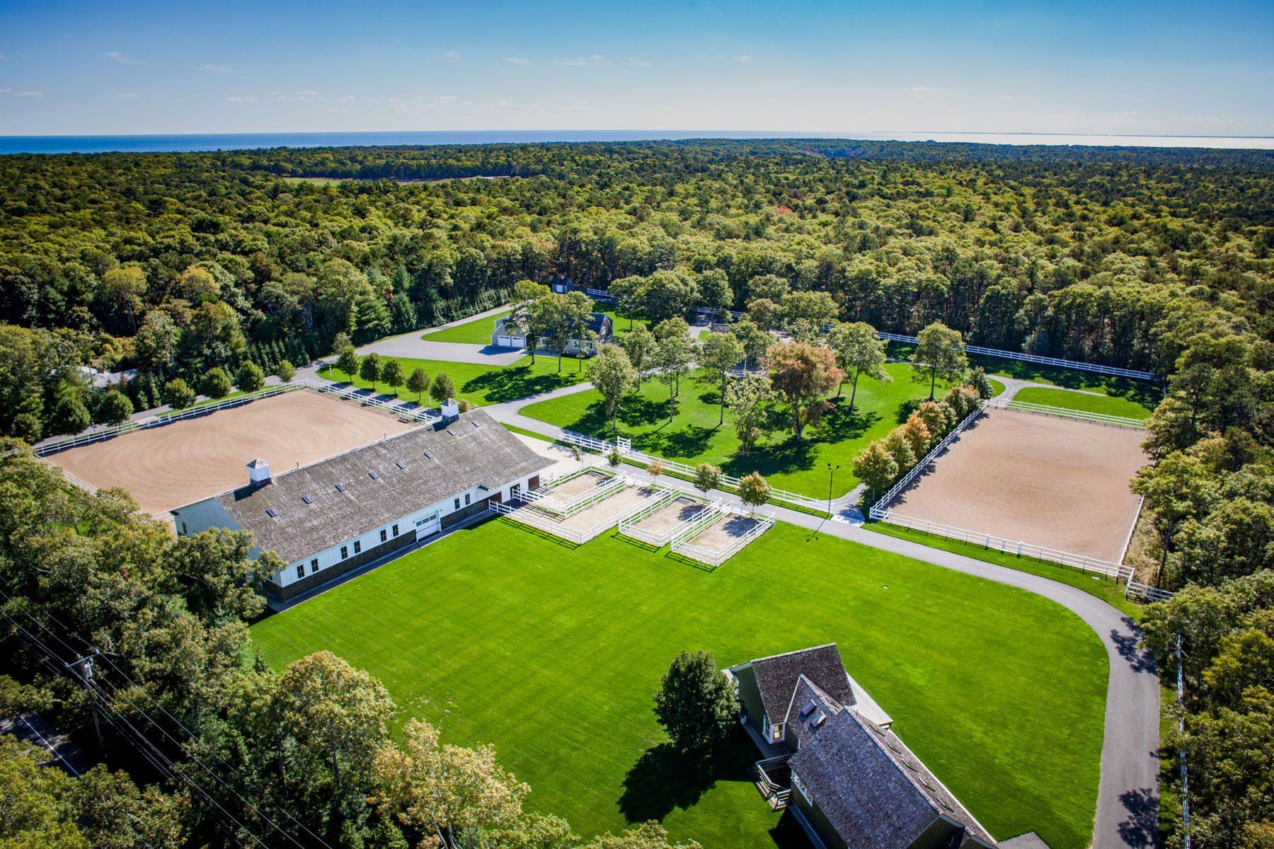 Farm / Ranch / Plantation for Sale at STUNNING STATE OF THE ART EQUESTRIAN FARM 122 Red Brook Road Mashpee, 02649 United States