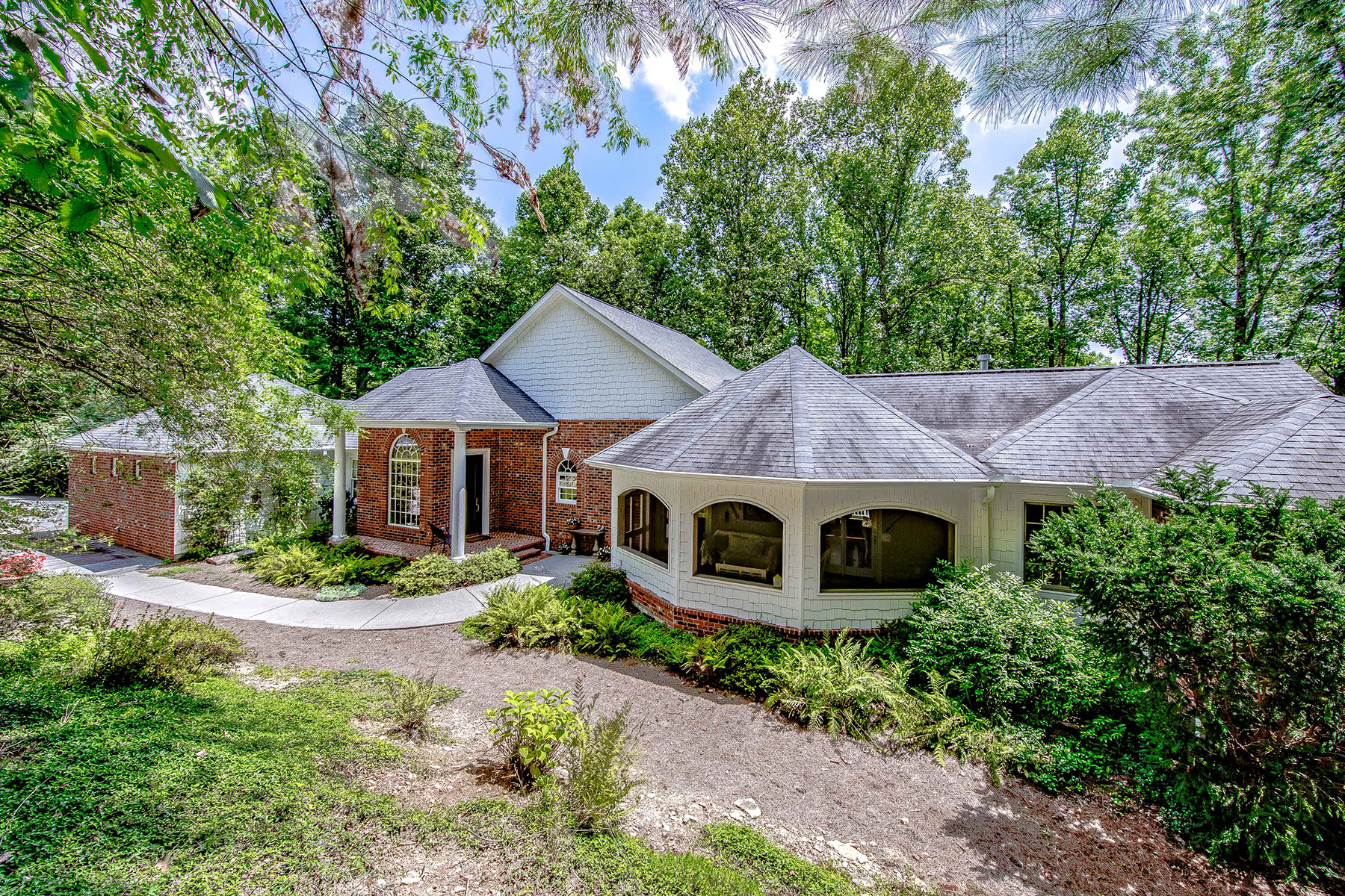 Single Family Home for Active at TRENHOLM WOODS 135 Connemara Overlook Drive Hendersonville, North Carolina 28739 United States