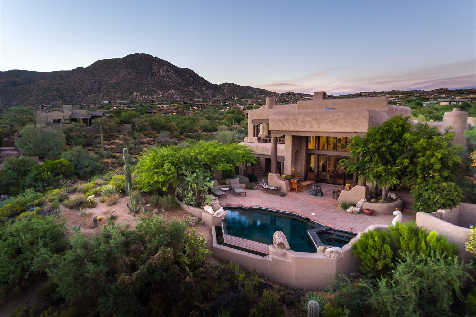 Single Family Home for Sale at Wonderful residence in Desert Mountain 41634 N 110th Way, Scottsdale, Arizona, 85262 United States