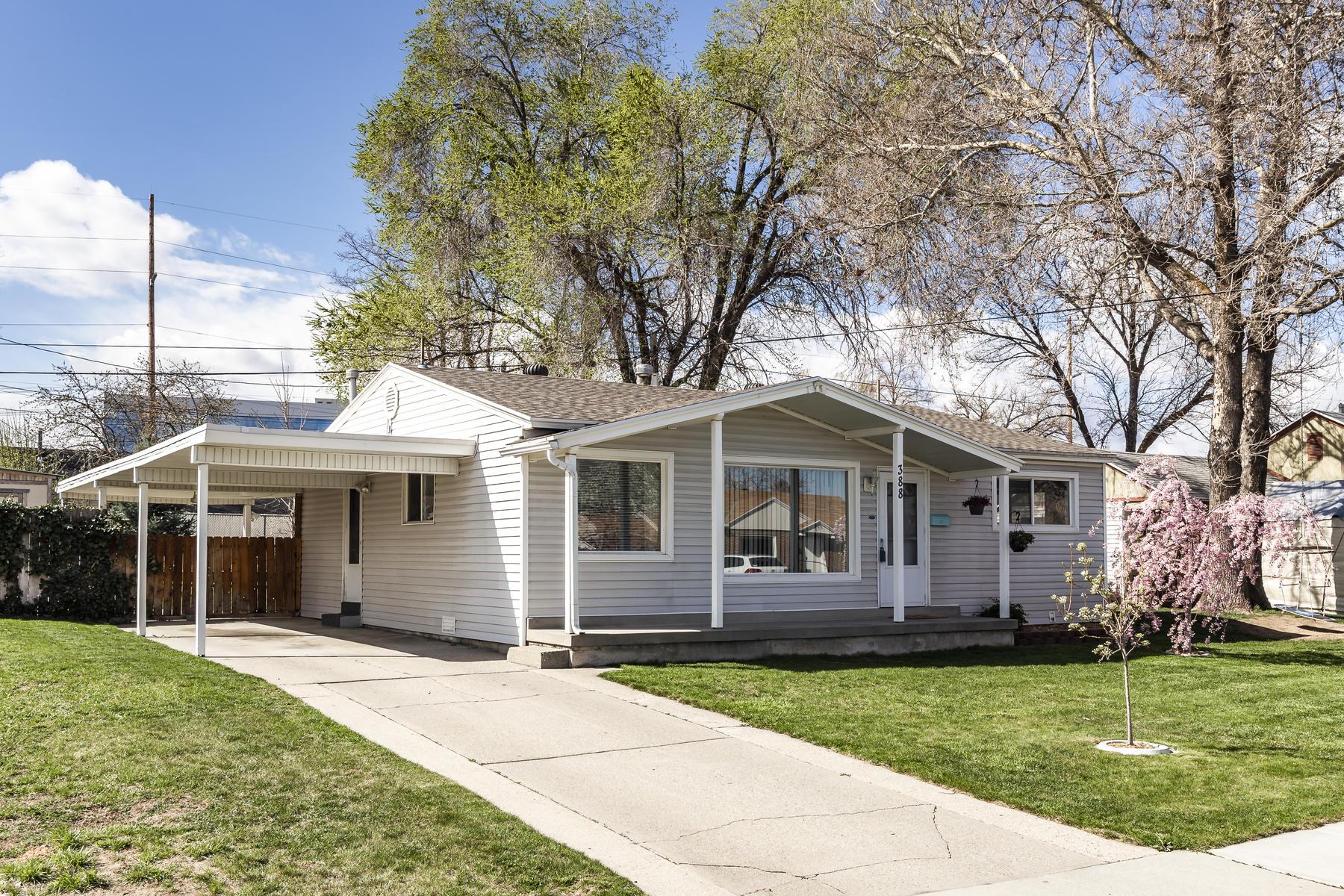 Single Family Homes 용 매매 에 Charming One Level Rambler 388 E 6360 S Murray, 유타 84107 미국