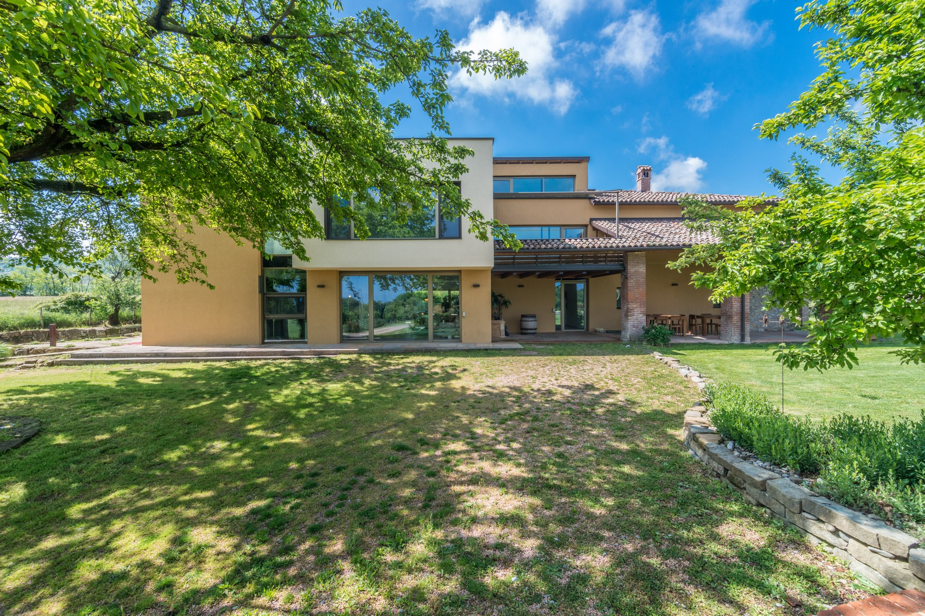 Single Family Home for Sale at Sophisticated passive house immersed in the countryside Strada Provinciale di Agazzano Other Piacenza, Piacenza 29010 Italy