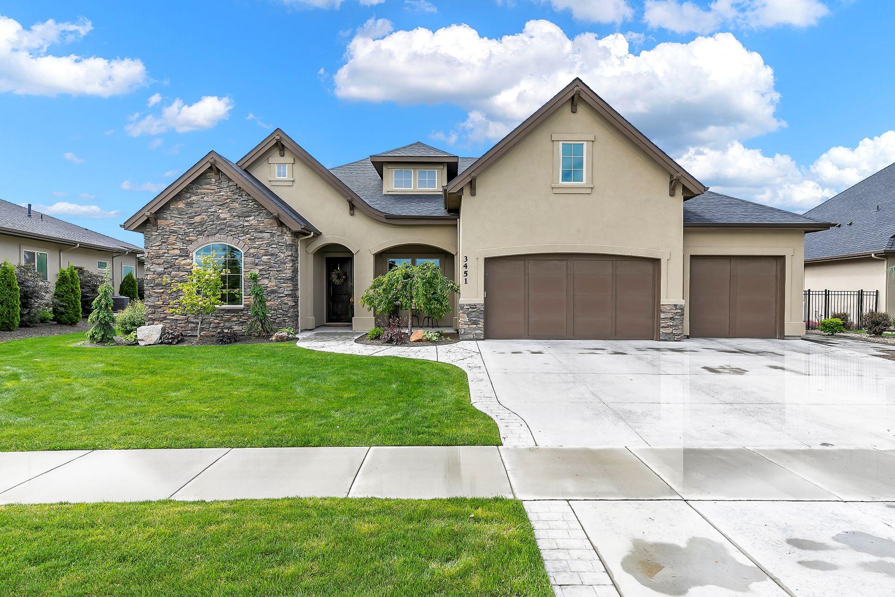 Single Family Home for Active at 3451 Dublin Street, Eagle 3451 W Dublin St Eagle, Idaho 83616 United States