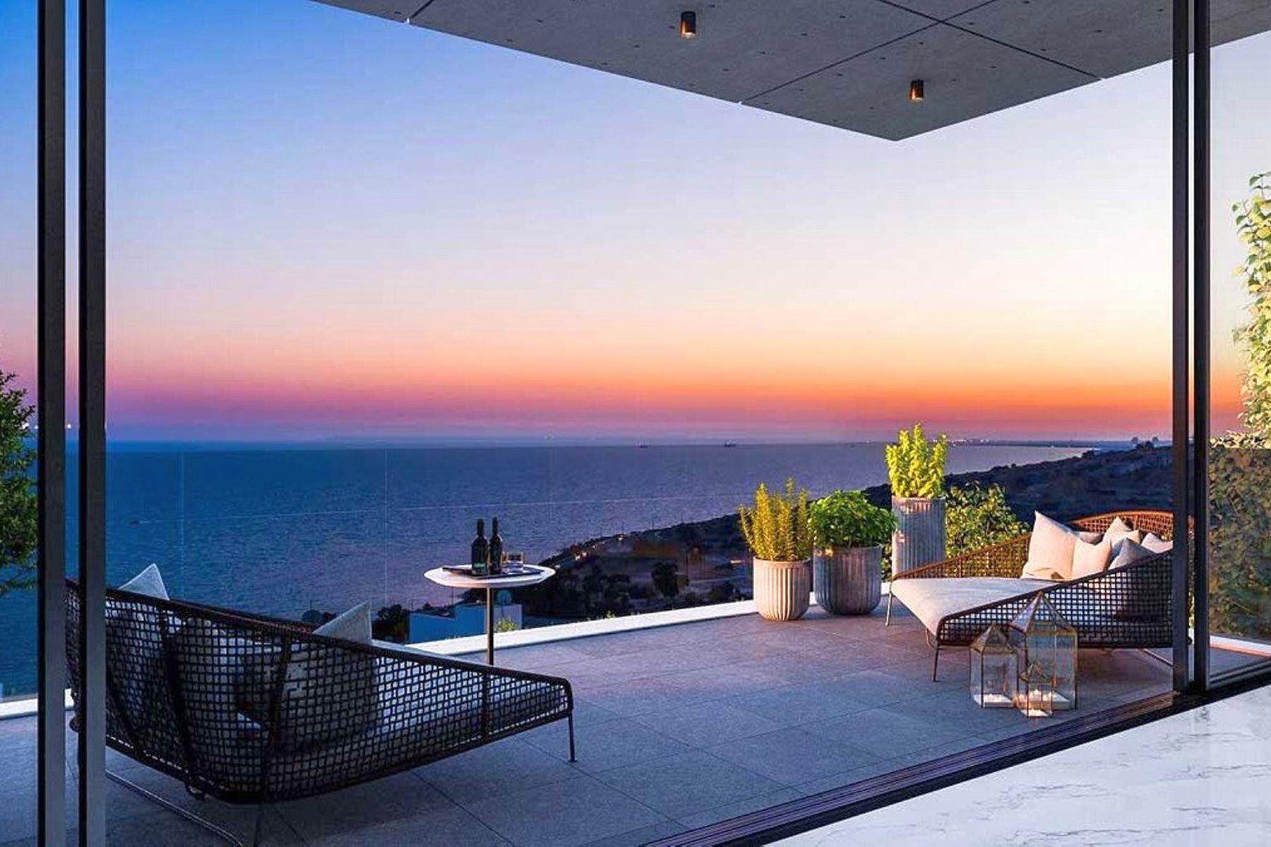 Single Family Homes por un Venta en Elegant 4 bedroom villa in Amathousia, Limassol Limassol, Limassol Chipre