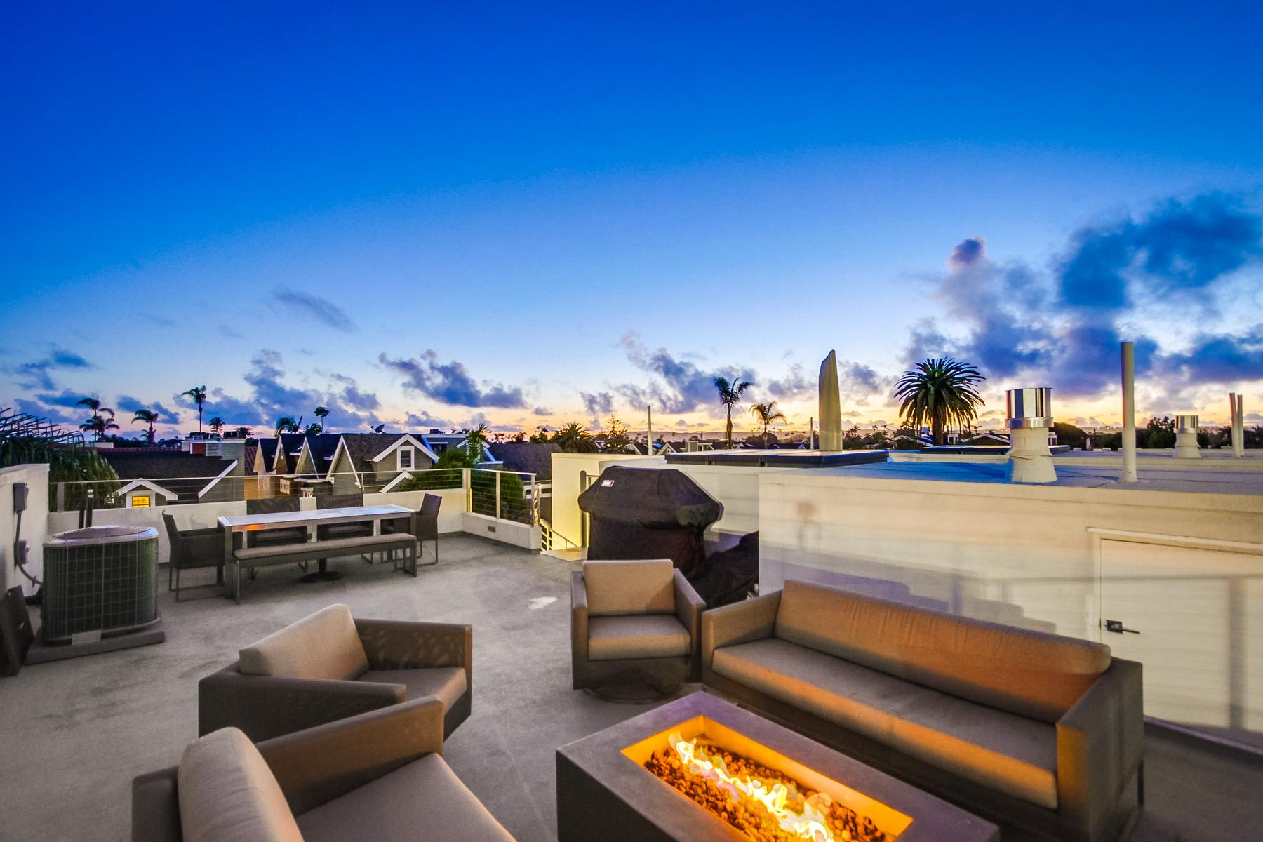 townhouses for Active at 704 7th Street Coronado, California 92118 United States