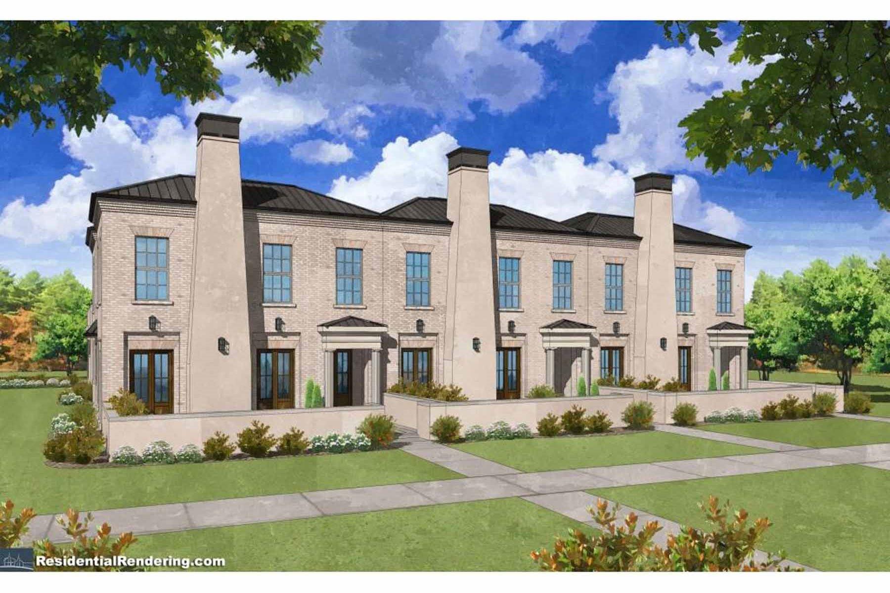 Maison unifamiliale pour l Vente à The Manning At Avalon 142 Grand Crescent Alpharetta, Georgia, 30009 États-Unis