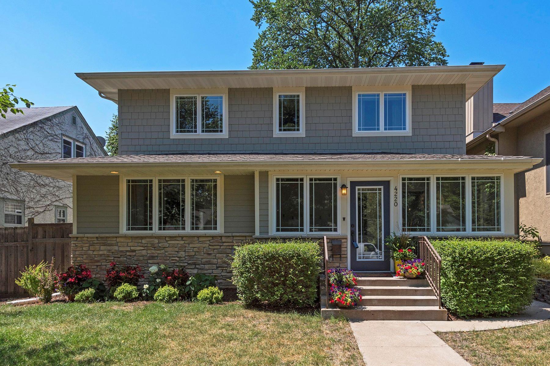 Casa para uma família para Venda às 4220 Chowen Avenue South Linden Hills, Minneapolis, Minnesota, 55410 Estados Unidos