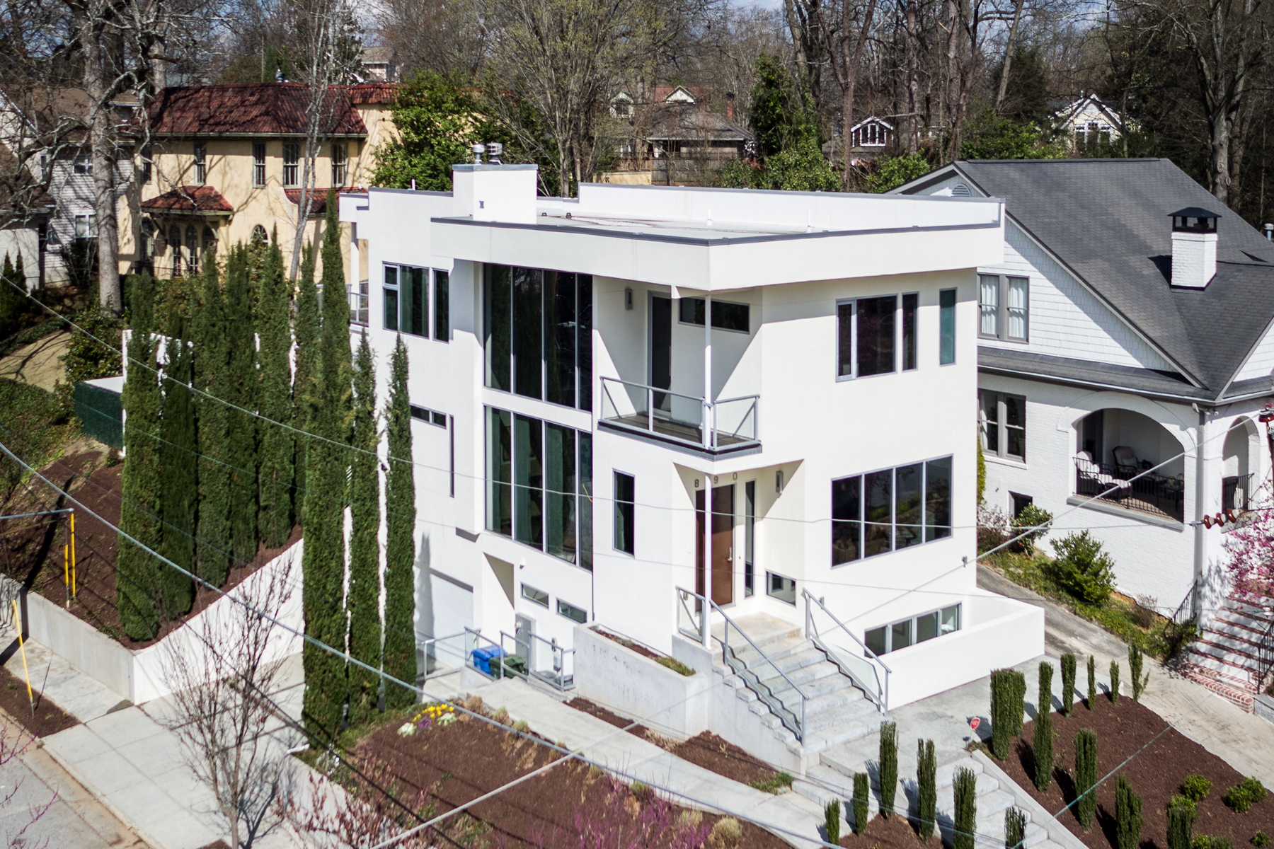 Single Family Home for Sale at Contemporary Morningside Home 890 Courtenay Drive NE Atlanta, Georgia 30306 United States