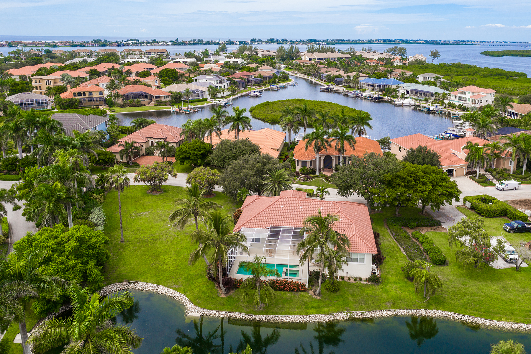 single family homes for Active at HARBOUR LANDING ESTATES 4105 Commodore Blvd Cortez, Florida 34215 United States
