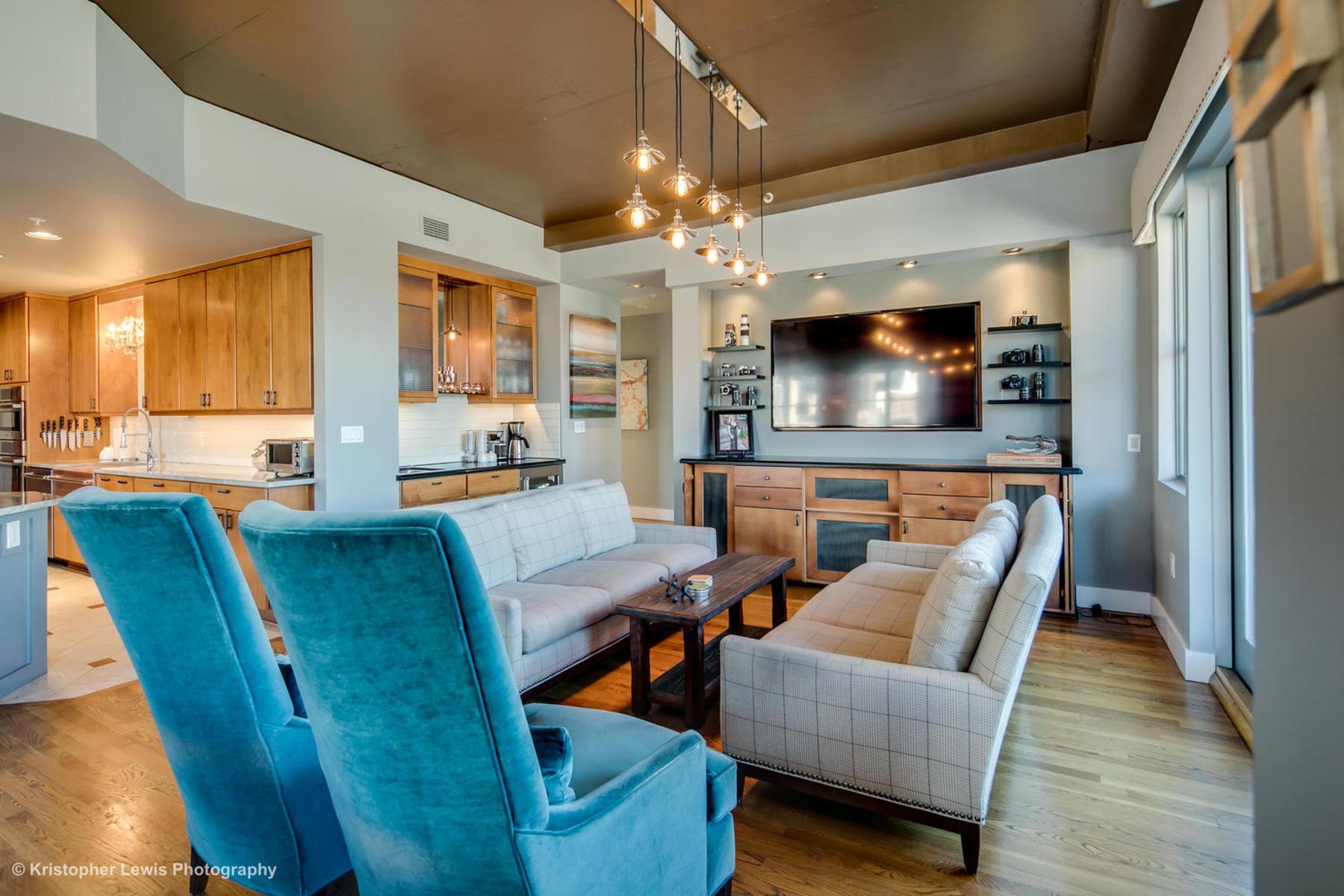 Condominio por un Alquiler en Luxe Lodo Living At Its Finest 1735 19th St #5D Denver, Colorado 80202 Estados Unidos