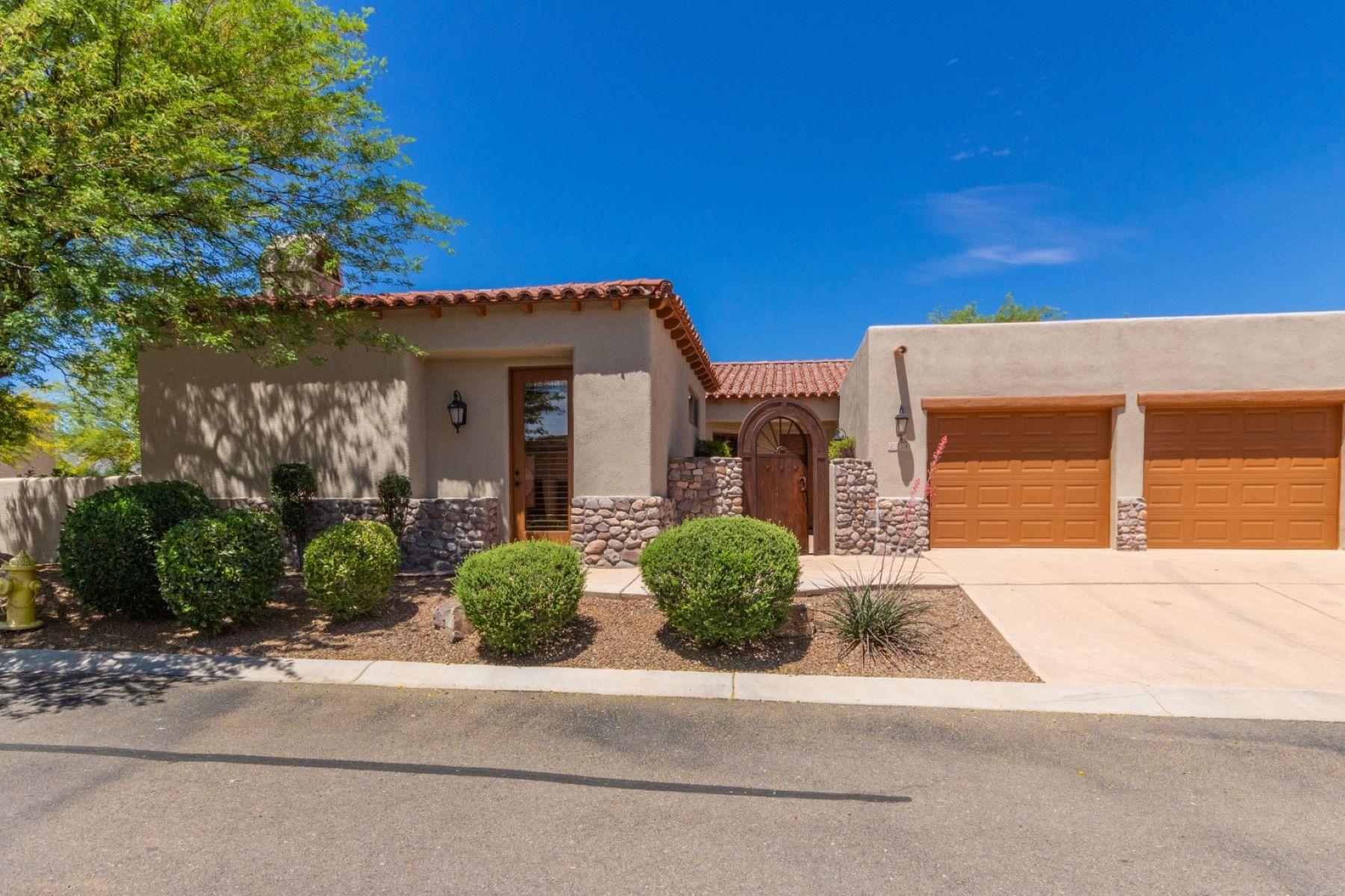 single family homes for Active at Gently Used & Beautifully Upgraded 218 Circulo Veranera Tubac, Arizona 85646 United States