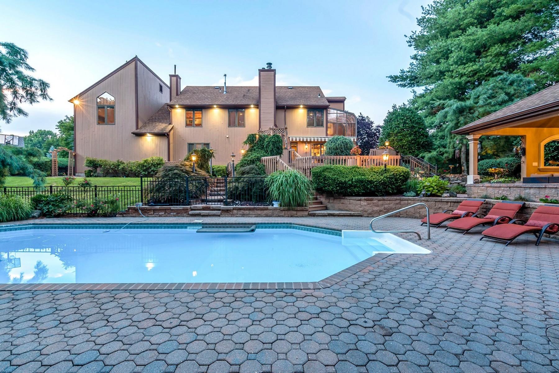 Частный односемейный дом для того Продажа на 11 Brandywine Way, Middletown Middletown, Нью-Джерси 07748 Соединенные Штаты