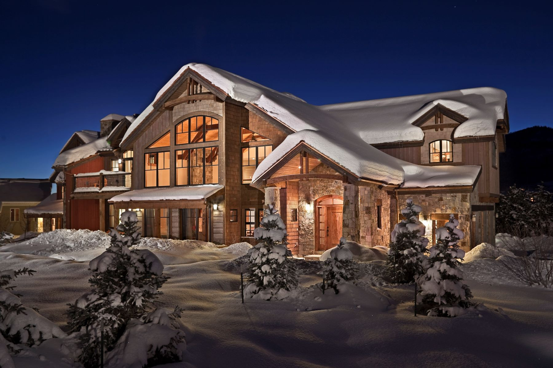 Single Family Home for Sale at Dramatic Views. Sophisticated Interior. 1845 Steamboat Blvd Steamboat Springs, Colorado 80487 United States