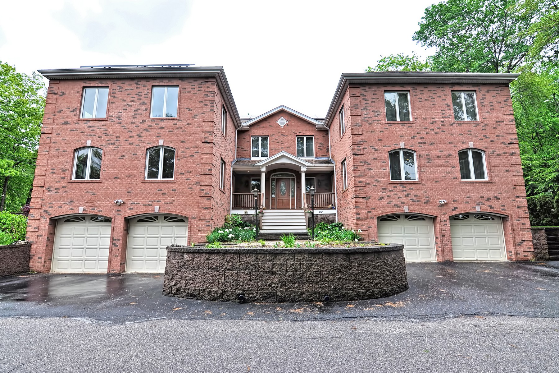 Single Family Home for Active at Colonial With Water Views Of Lake Maspenock 25 Lakeshore Drive Hopkinton, Massachusetts 01748 United States