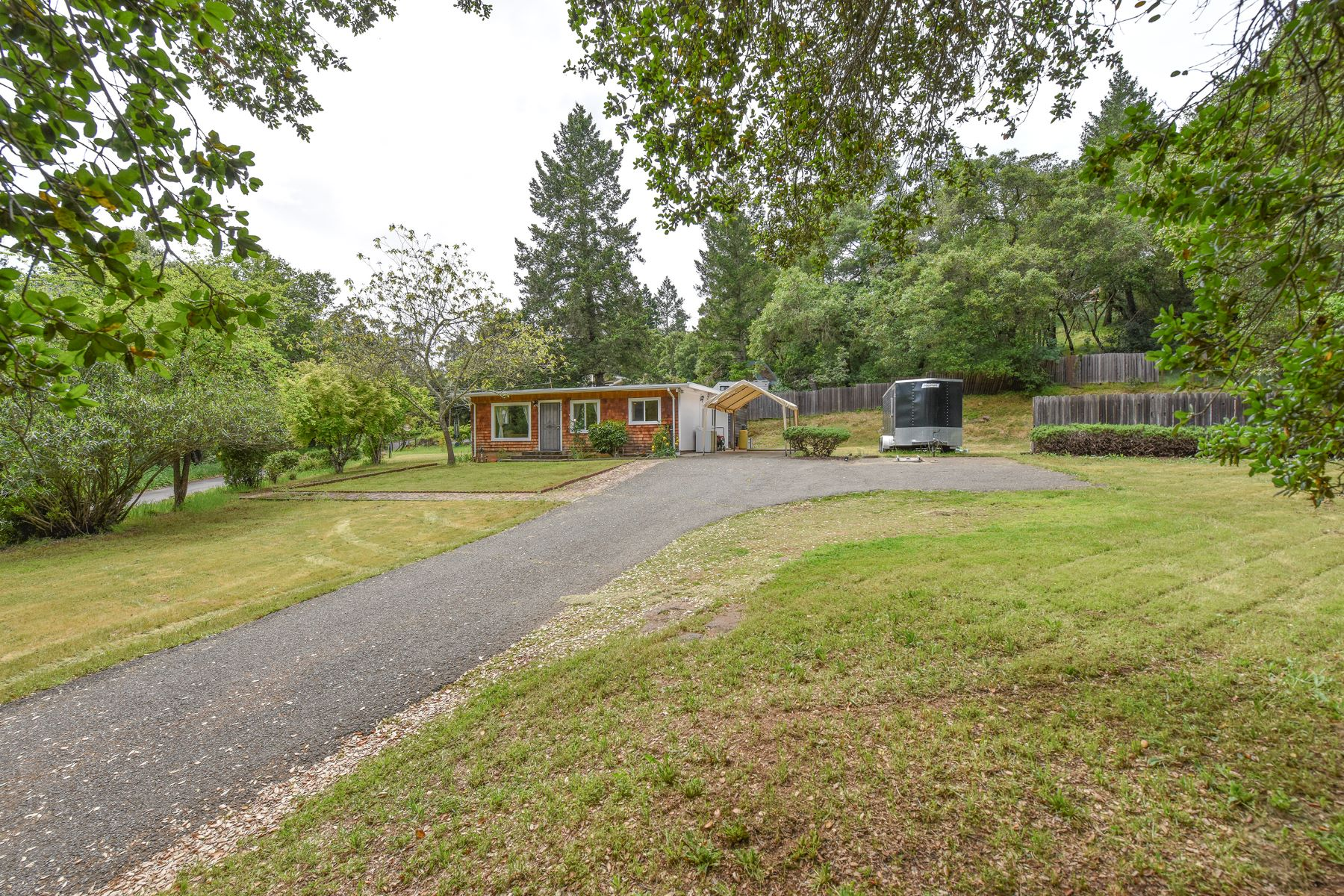 Single Family Home for Sale at A Country Cottage with Inspiring Possibilities 690 Sunnyside Road St. Helena, California 94574 United States
