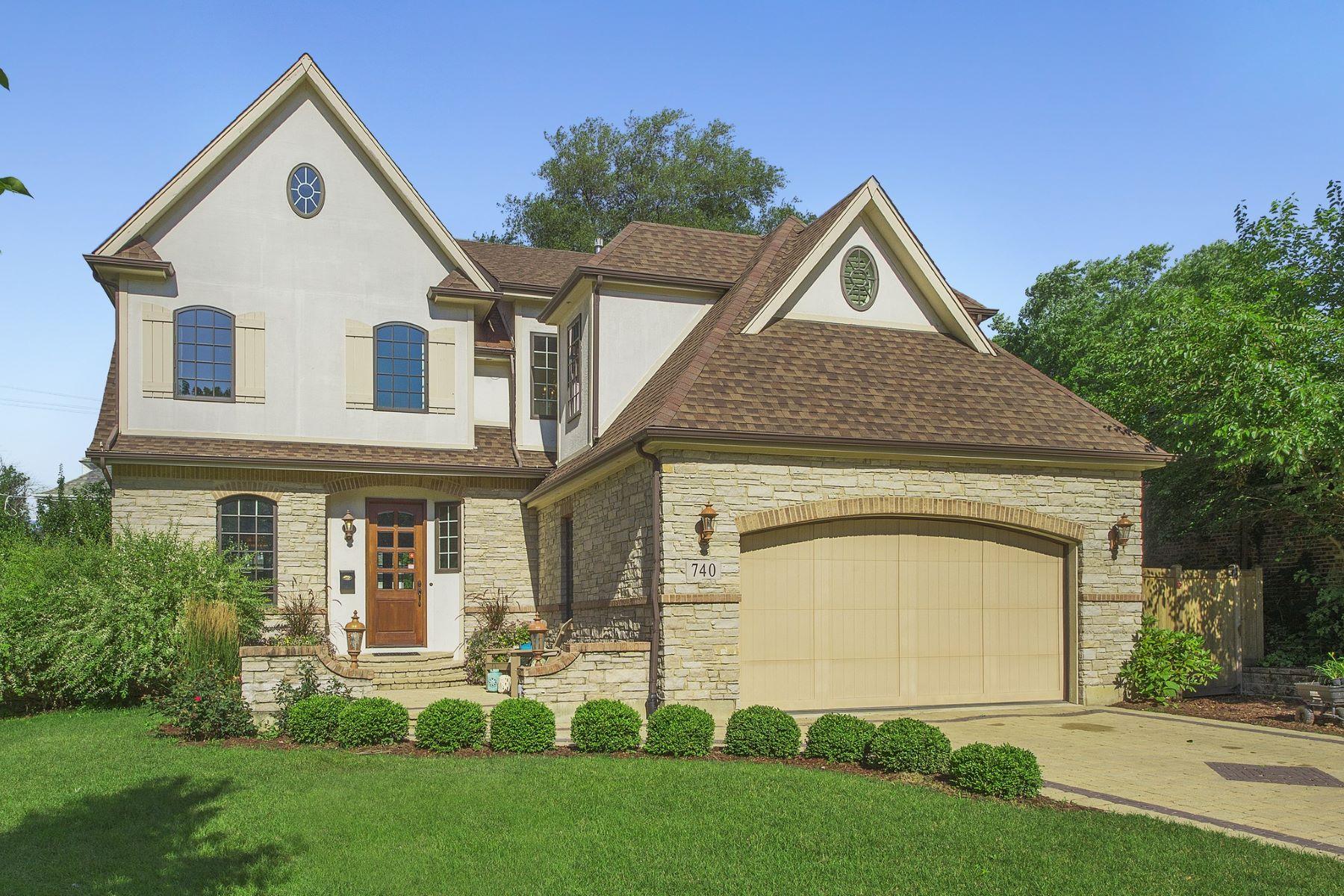 Nhà ở một gia đình vì Bán tại 740 Phillippa Street 740 Phillippa St. Hinsdale, Illinois, 60521 Hoa Kỳ