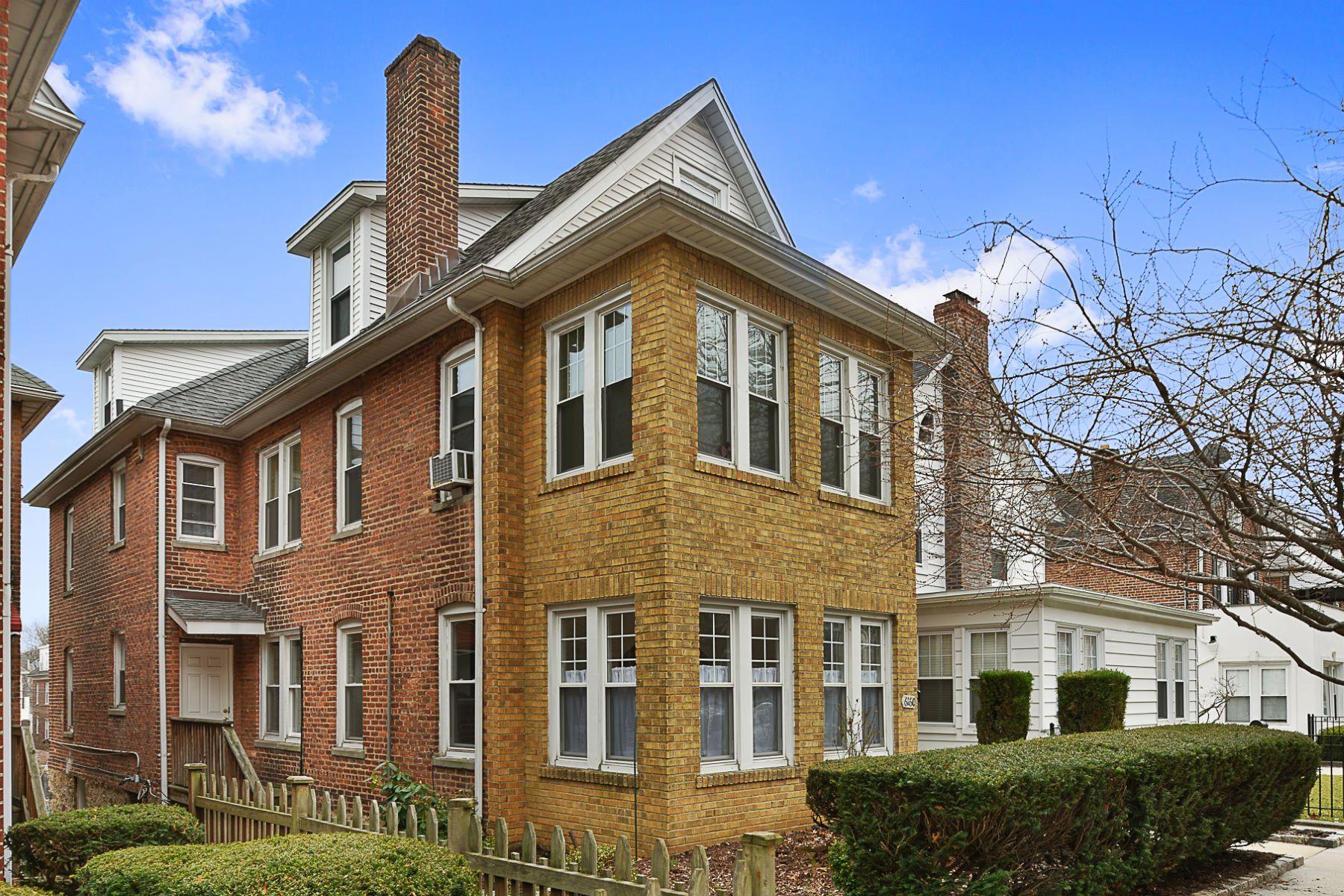 다가구 주택 용 매매 에 Detached Multi-Family Brick Home with Low Taxes 6160 Delafield Avenue, Riverdale, 뉴욕, 10471 미국