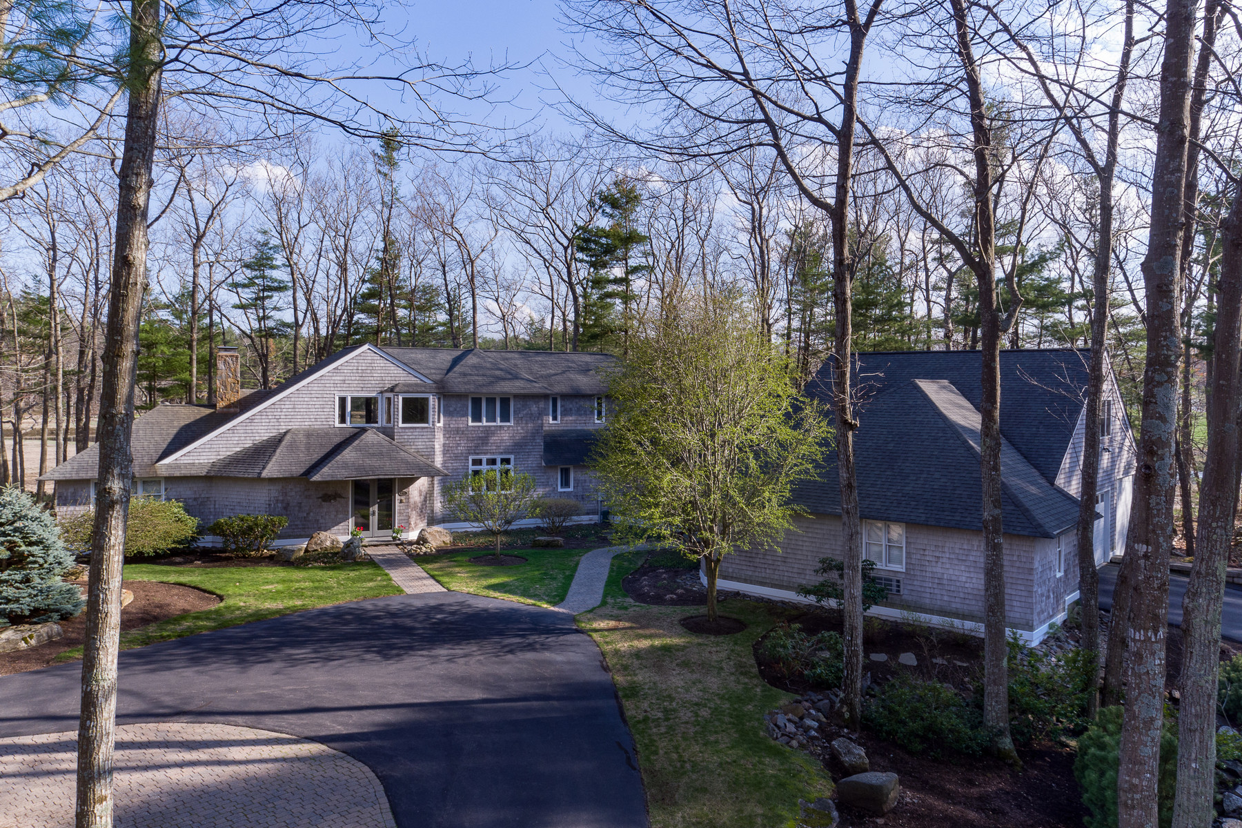 Single Family Home for Sale at Private Waterfront 8 Acre Compound 235 Pioneer Road Rye, New Hampshire, 03870 United States