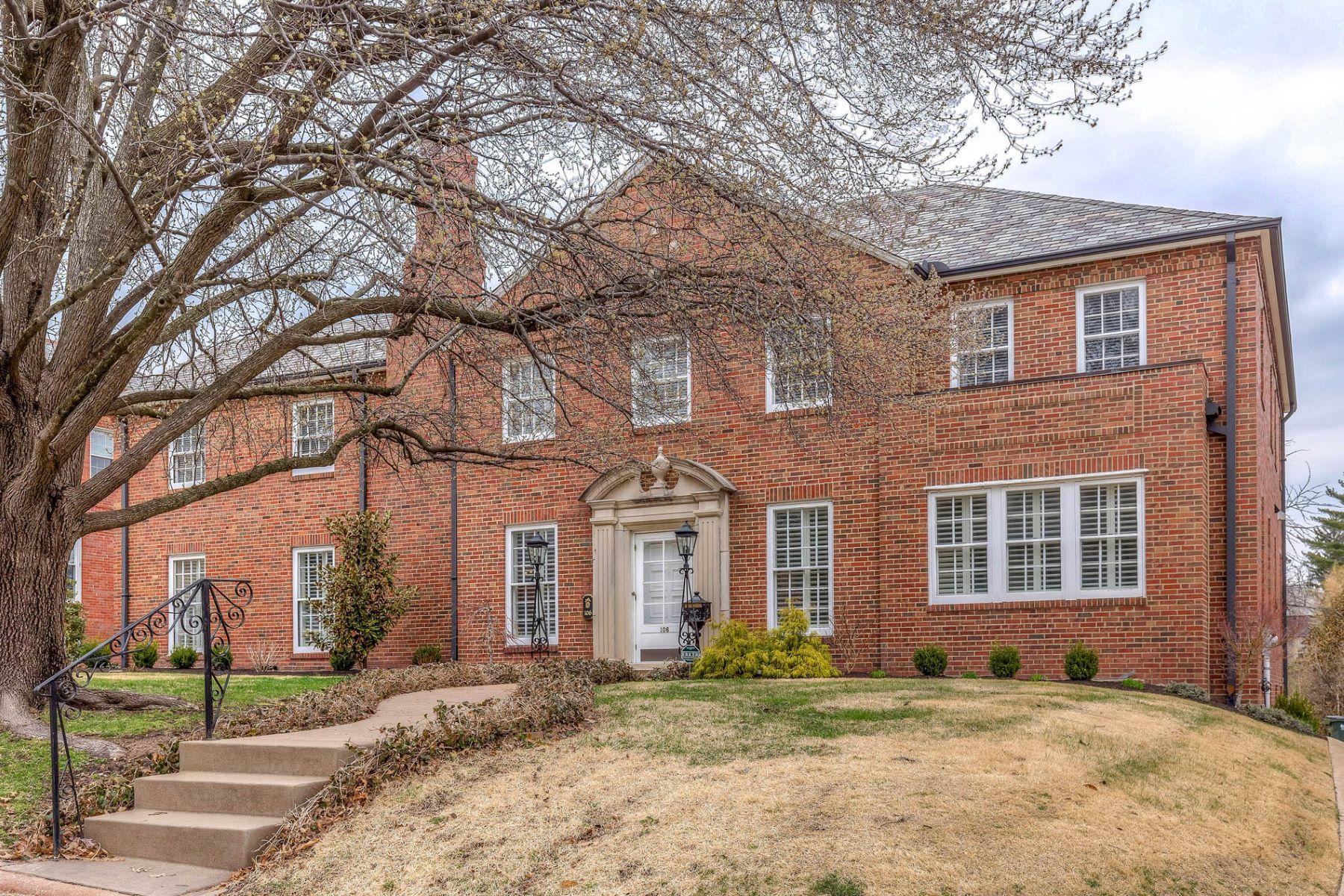 단독 가정 주택 용 매매 에 Lake Forest Drive 106 Lake Forest Dr, Richmond Heights, 미주리, 63117 미국