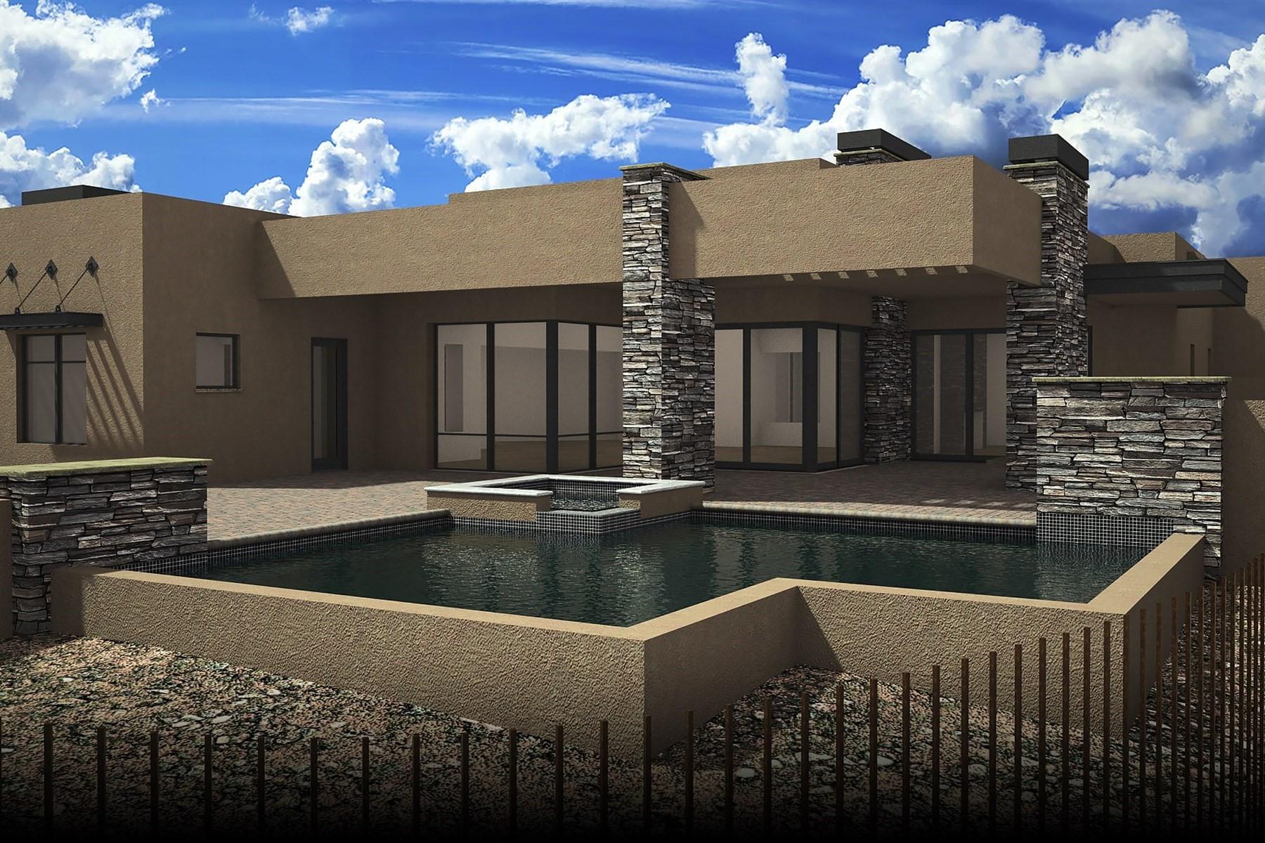 独户住宅 为 销售 在 Scottsdale Desert Contemporary 37597 N 92nd Pl, 斯科茨代尔, 亚利桑那州, 85262 美国