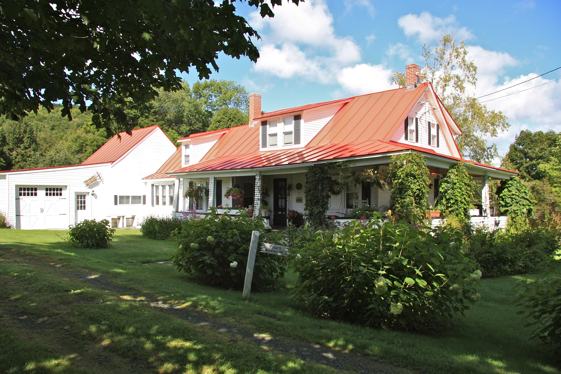 Single Family Homes for Sale at Located in Heart of Village 72 Adams Road Barnard, Vermont 05031 United States