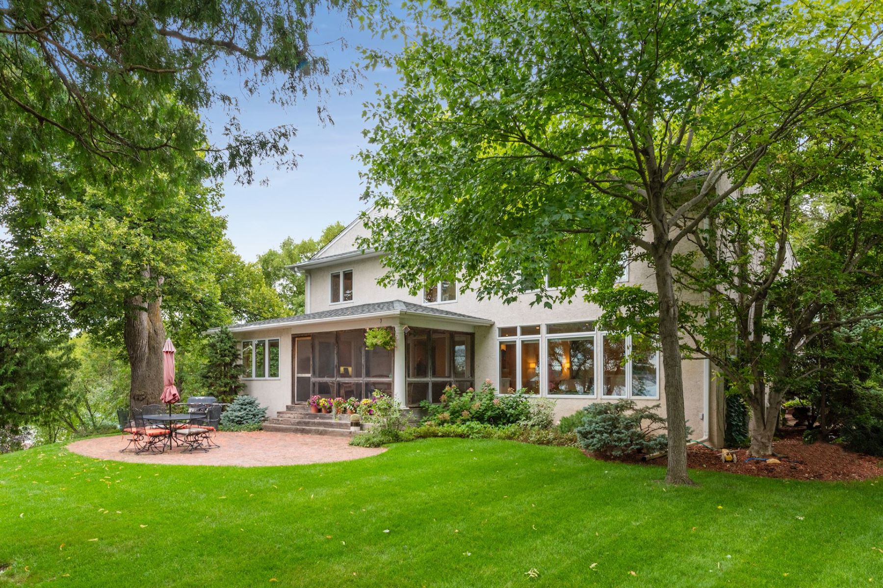 Single Family Homes for Sale at Unsurpassed Privacy on Hard to Find Acreage in Orono 4423 North Shore Drive Orono, Minnesota 55364 United States