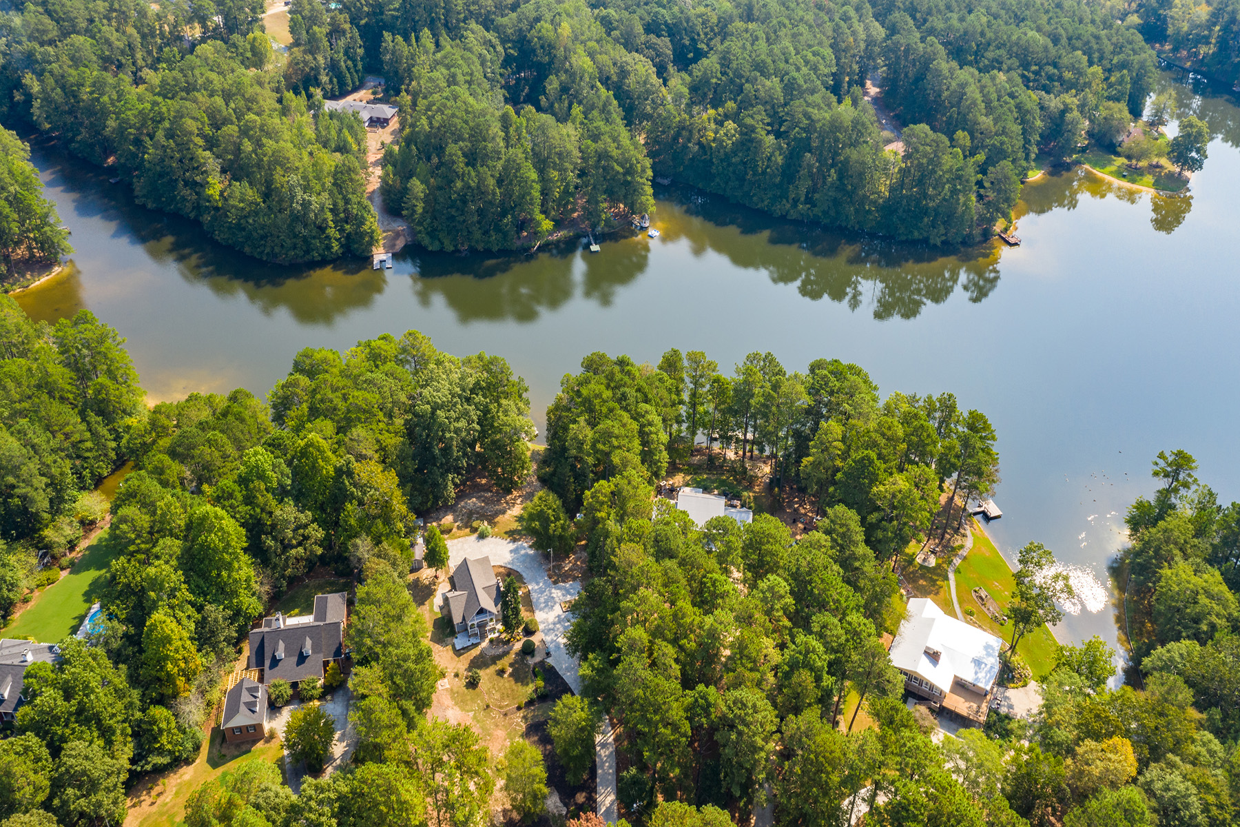 Single Family Homes for Sale at Charming Lakeside Cottage 405 West Lake Dr Oxford, Georgia 30054 United States