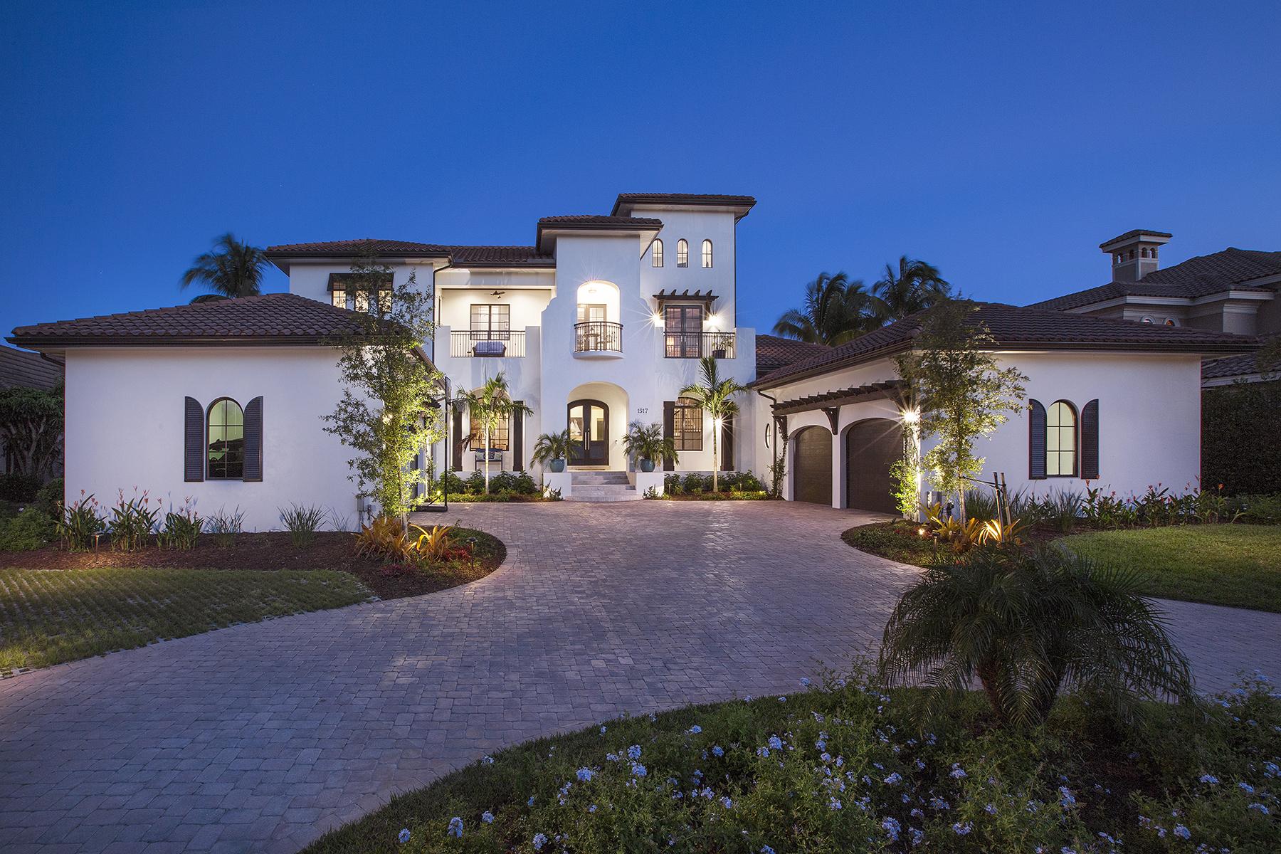 獨棟家庭住宅 為 出售 在 MARCO ISLAND 1517 Caxambas Ct Marco Island, 佛羅里達州 34145 美國
