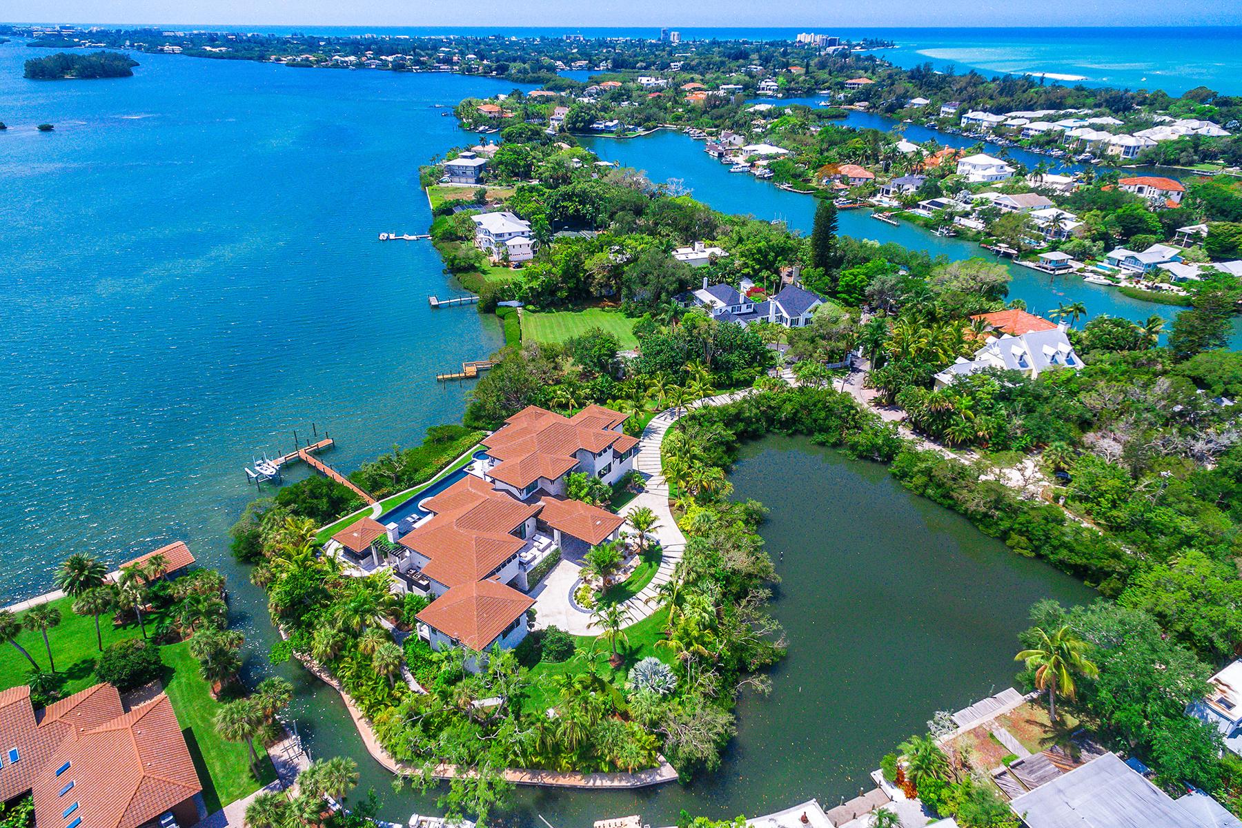 Single Family Homes for Active at BAY ISLAND 3799 Flamingo Ave Sarasota, Florida 34242 United States