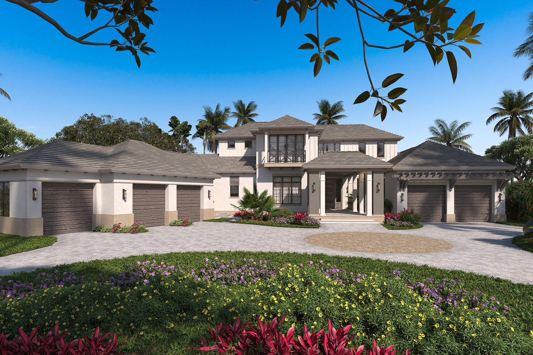 Single Family Homes por un Venta en AQUALANE SHORES 744 21st Avenue S Nápoles, Florida 34102 Estados Unidos