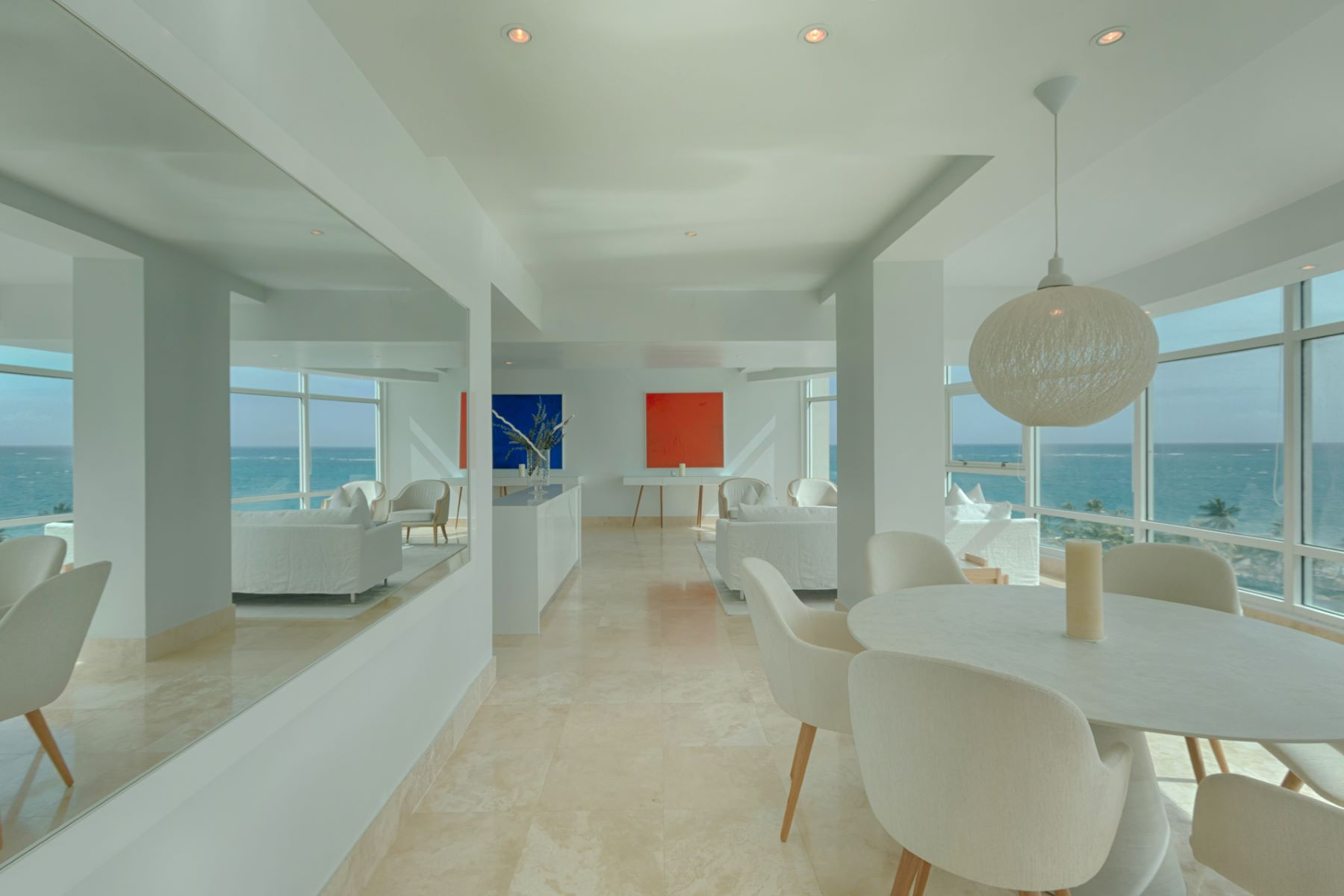 Additional photo for property listing at Modern 9th floor Ocean View at The Bristol 1052 Ashford Avenue San Juan, Puerto Rico 00907 푸에르토리코