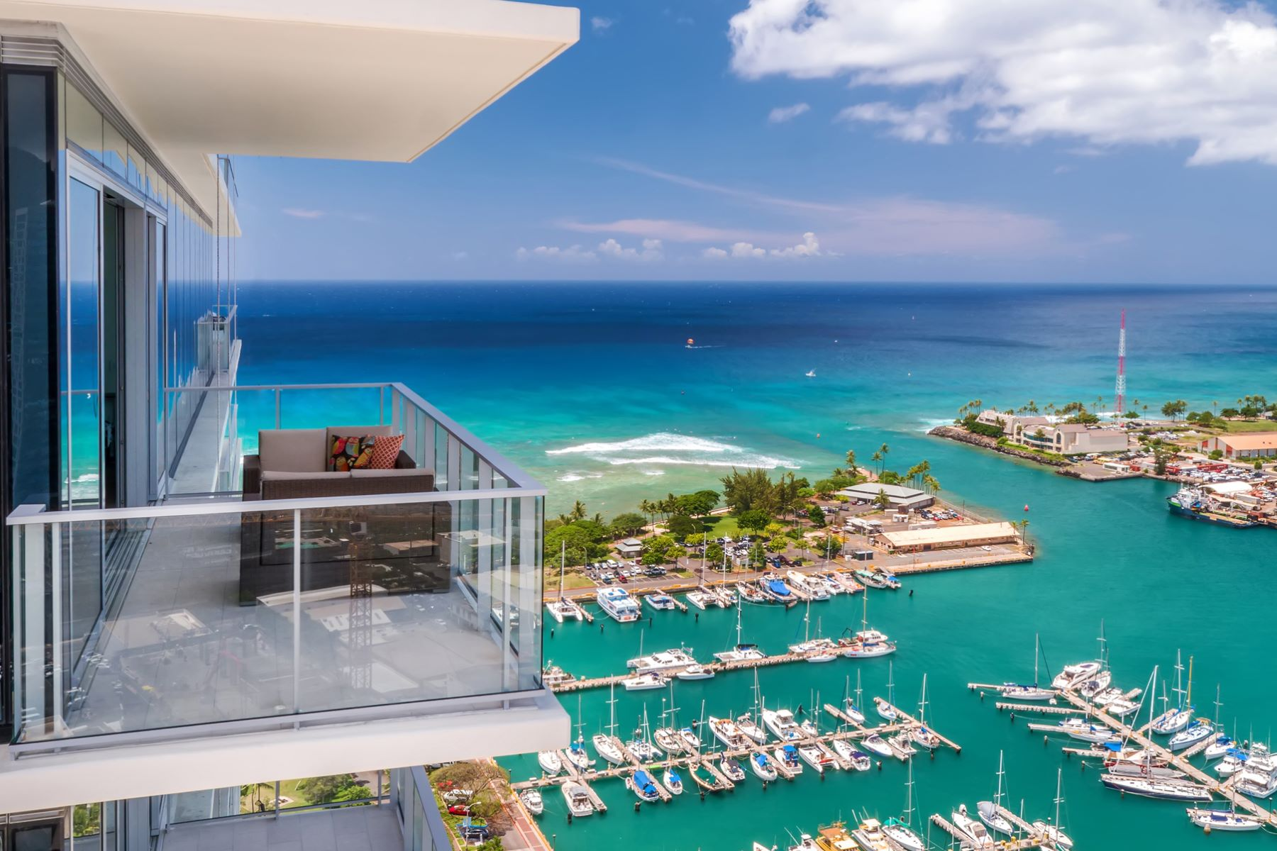 Condominiums for Active at Stunning Waiea Penthouse, Ocean View, Luxury Condo 1118 Ala Moana Boulevard #PH 3203 Honolulu, Hawaii 96814 United States