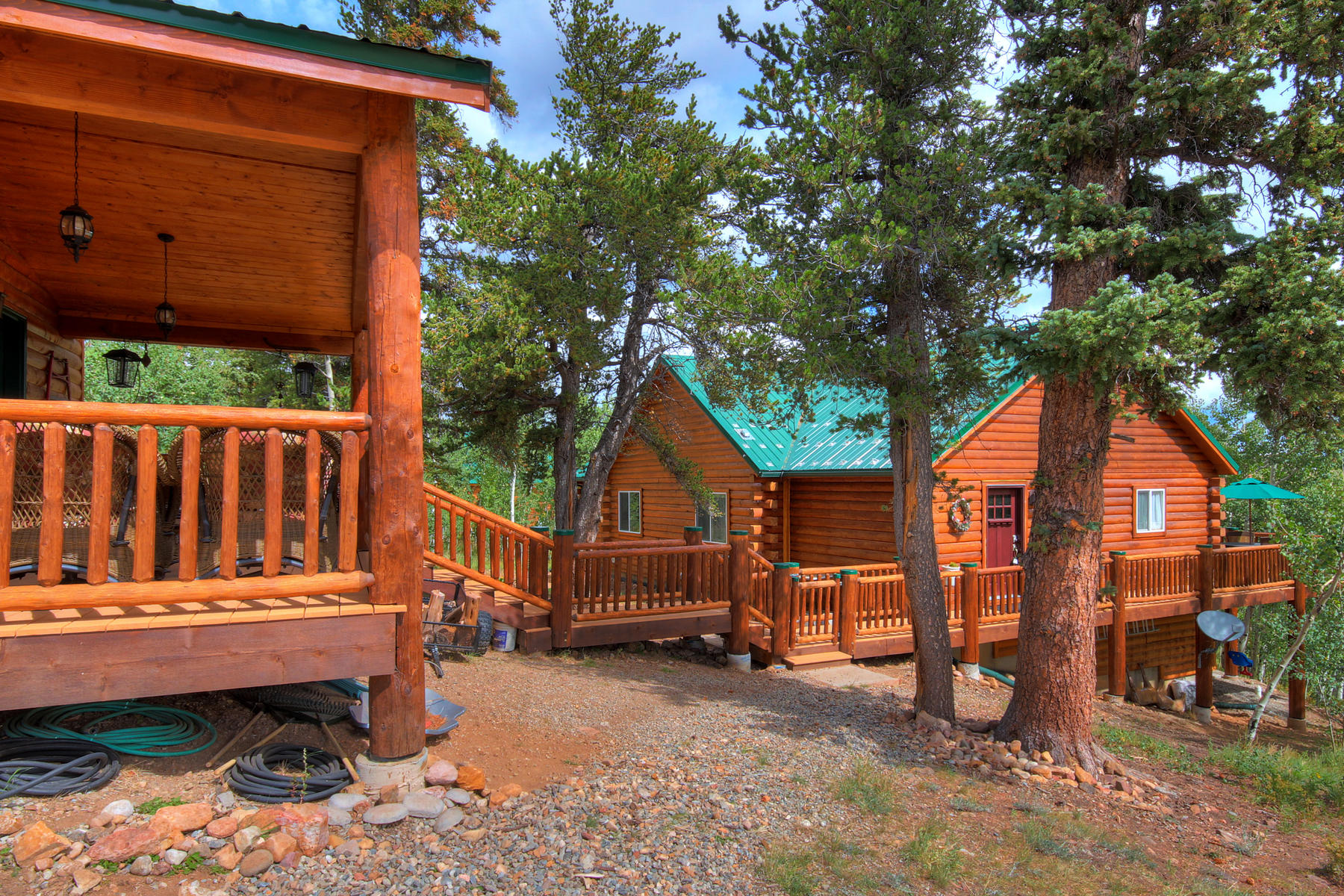 Single Family Home for Active at Warm Springs Ranch Home 95 Lamb Mountain Road Fairplay, Colorado 80440 United States