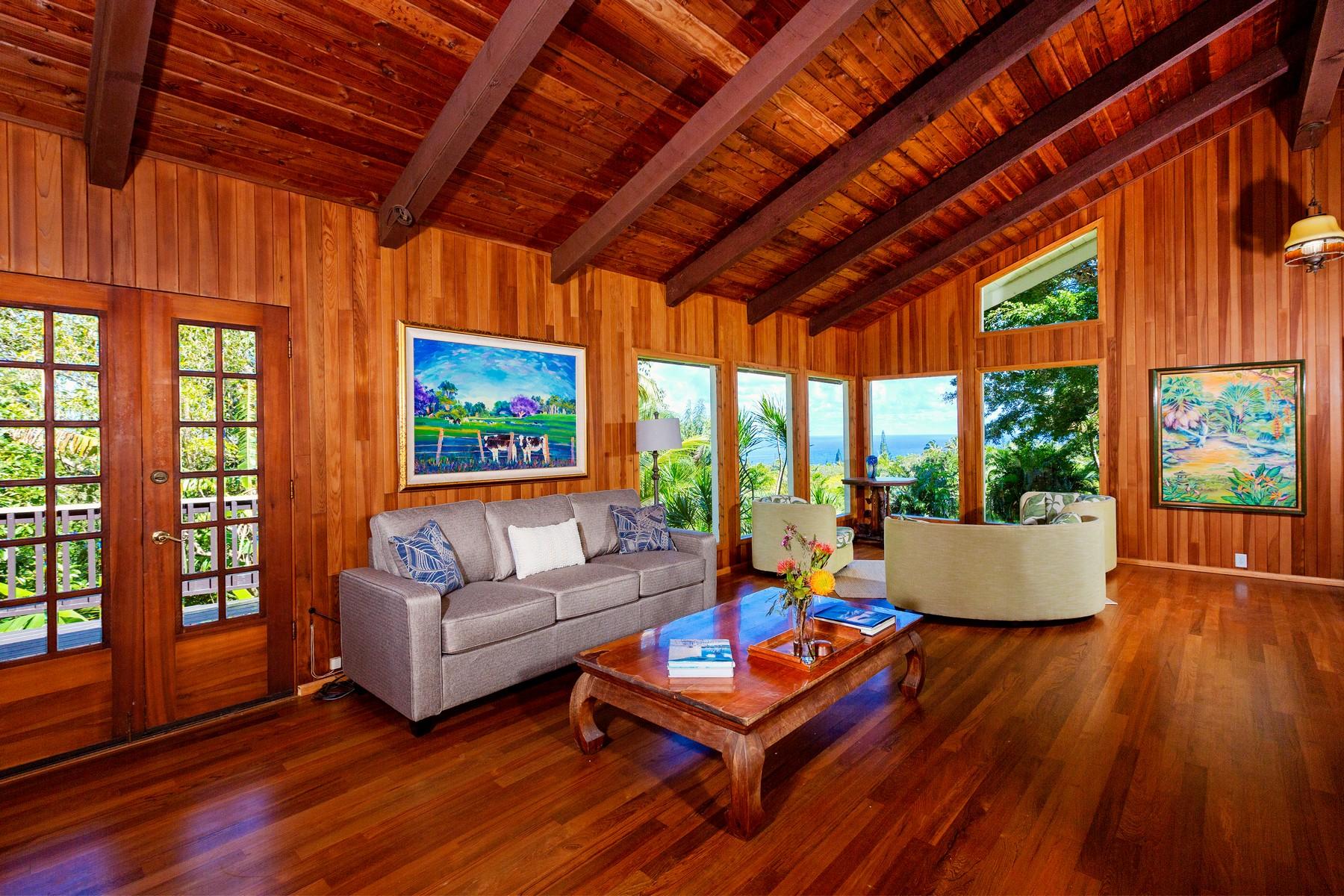 Single Family Homes 용 매매 에 245 N Honokala Rd, Haiku Haiku, 하와이 96708 미국