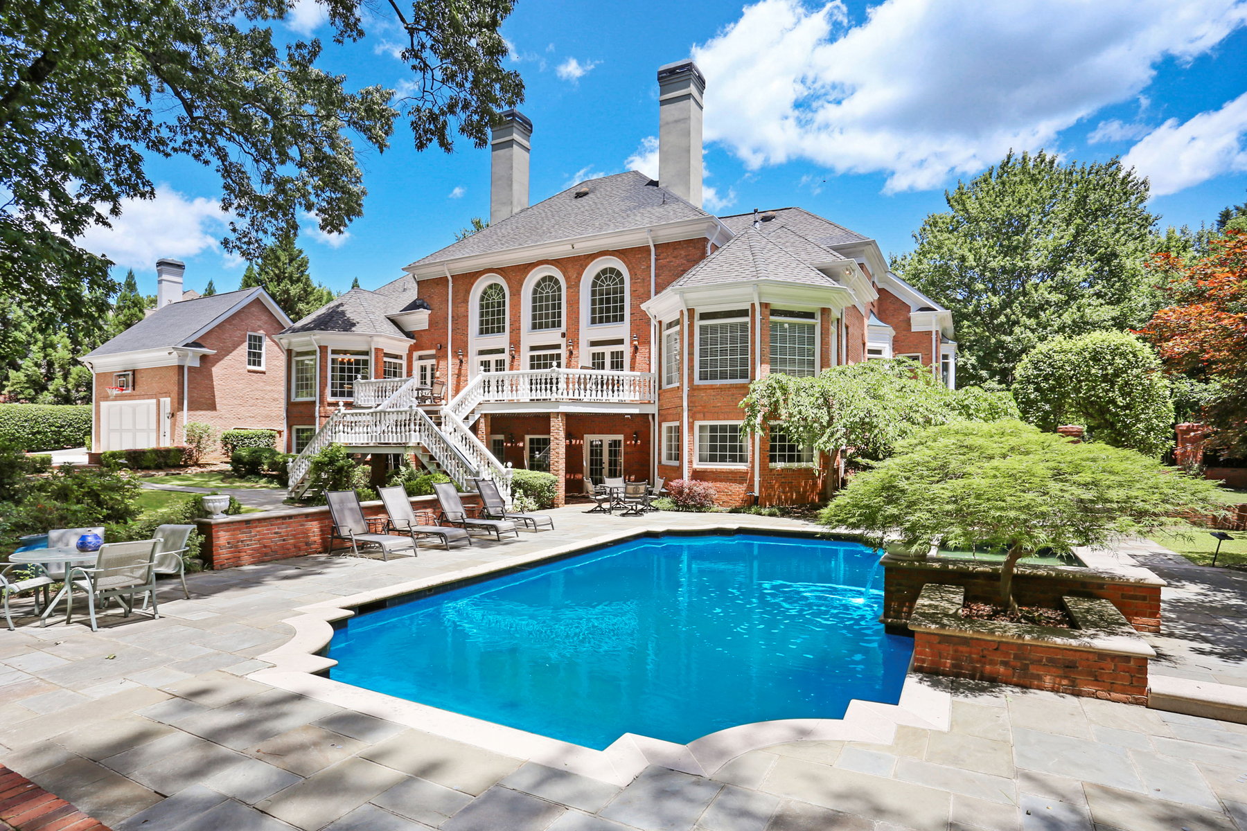 Single Family Homes for Sale at Diamond In The Rough Luxury Resort Style Home With Splendid Gardens And Pool 4075 Merriweather Woods Johns Creek, Georgia 30022 United States